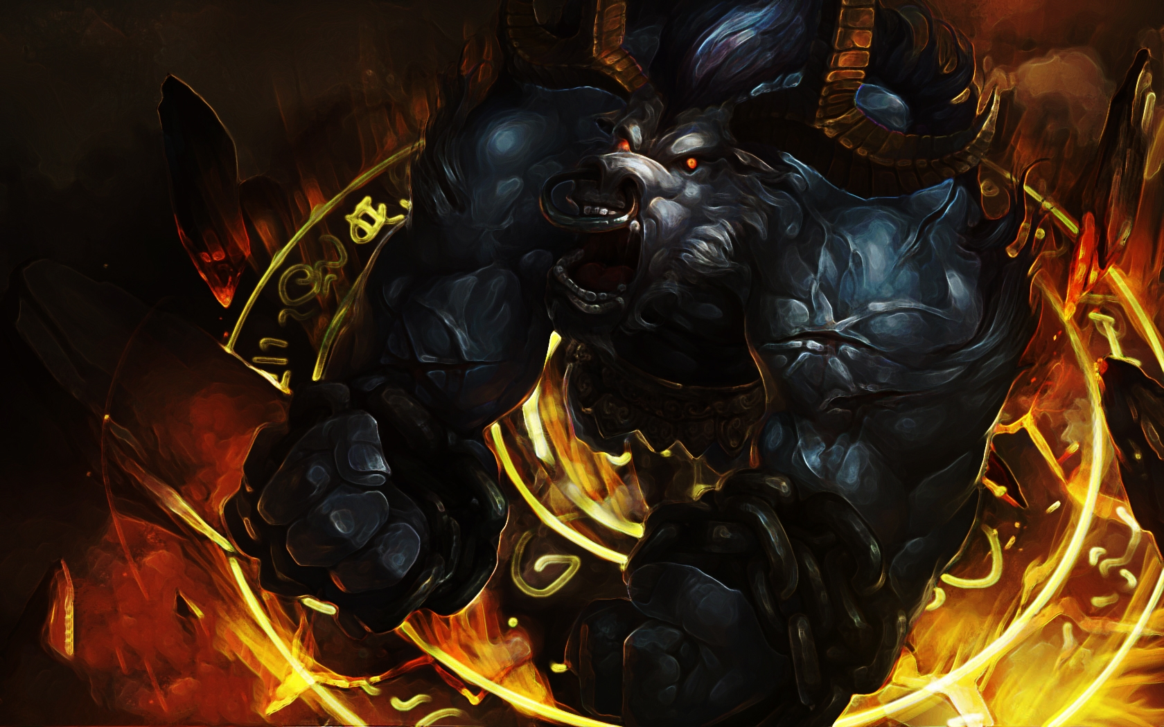 Angry Alistar wallpaper
