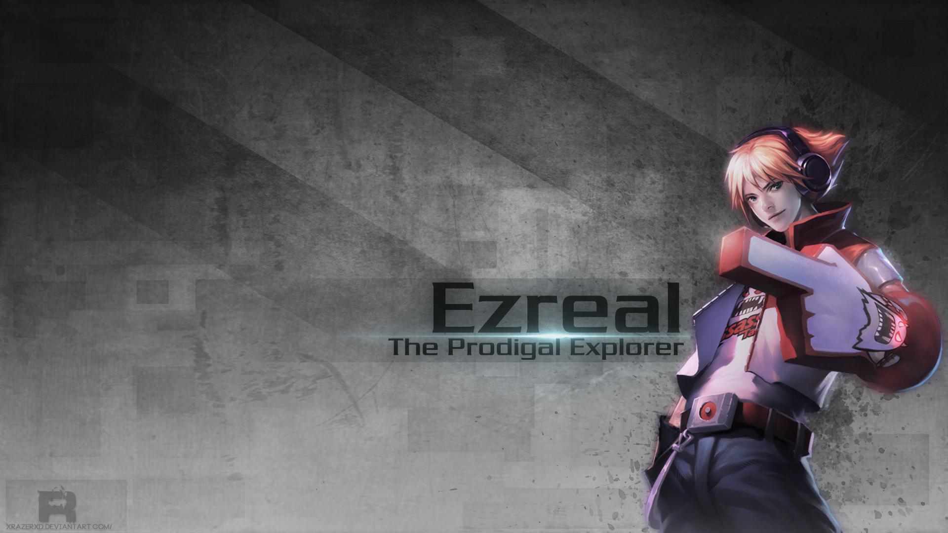 Ezreal – The Prodigal Explorer wallpaper