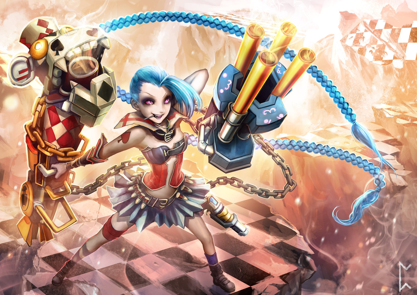Harlequin Jinx wallpaper