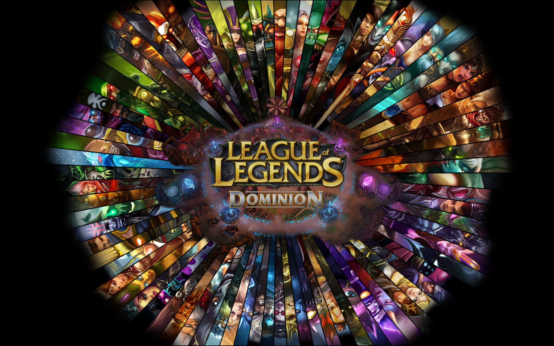 League of Legends Dominion wallpaper