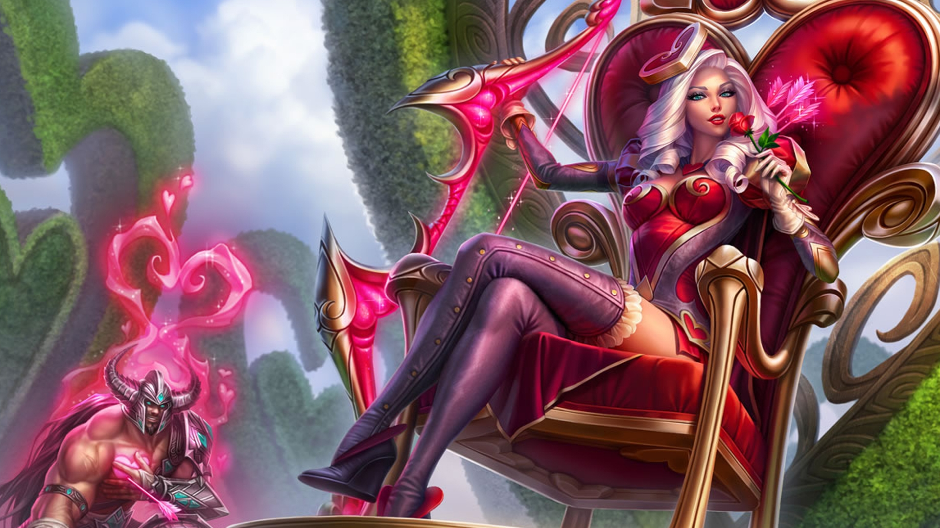 Heartseeker Ashe wallpaper