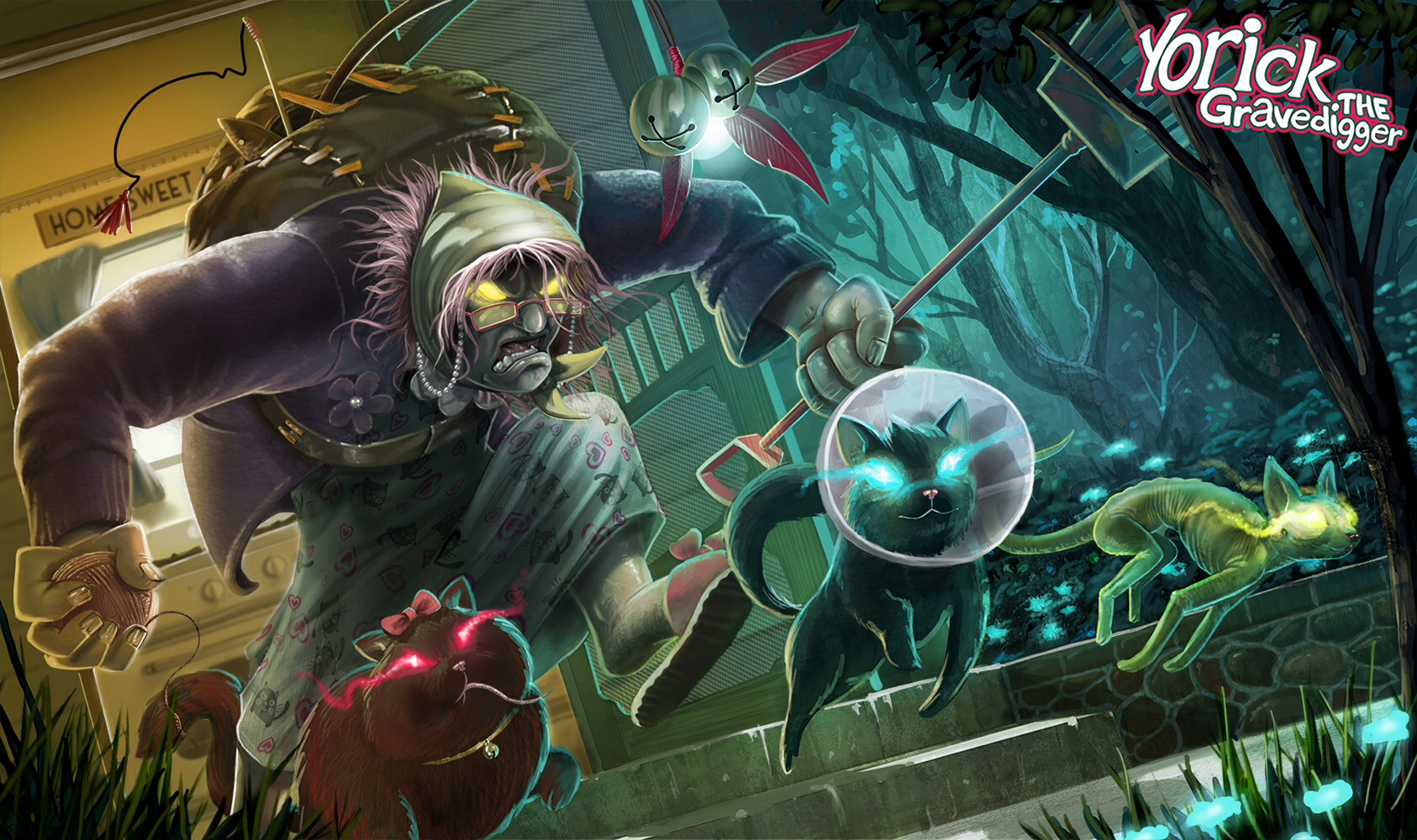 The Gravedigger Yorick wallpaper