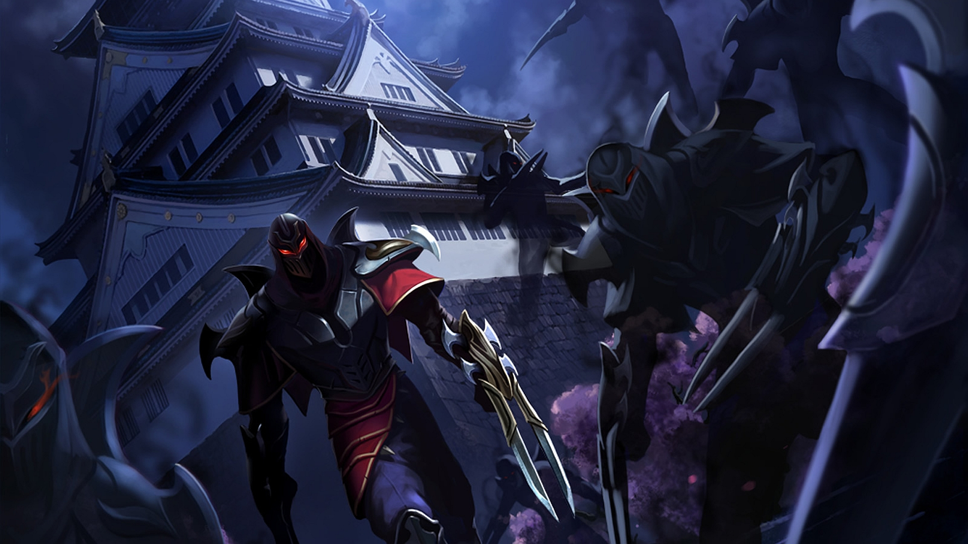 Zed – The Master of Shadows Artwork wallpaper