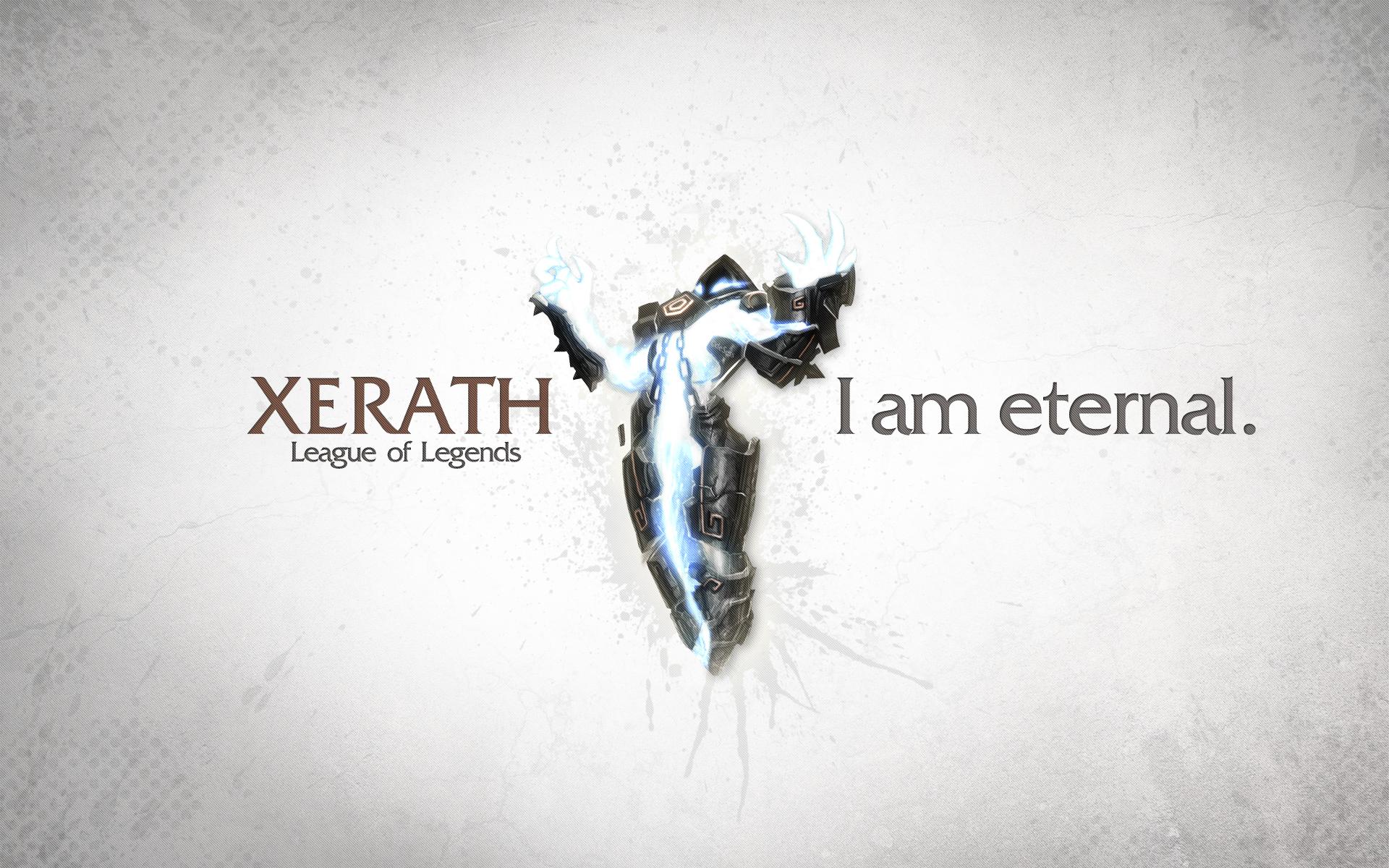 Xerath wallpaper