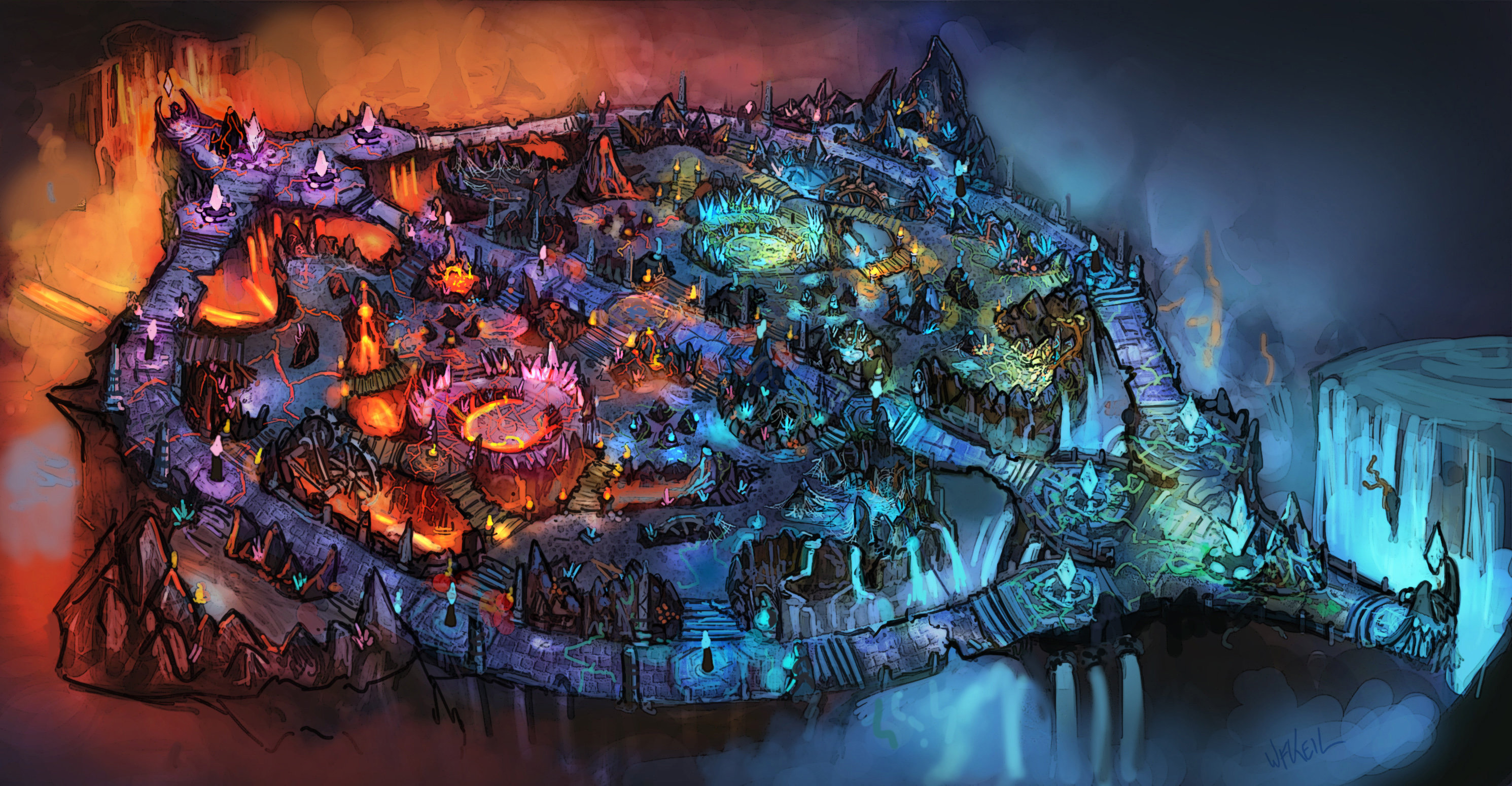Magma Chamber wallpaper