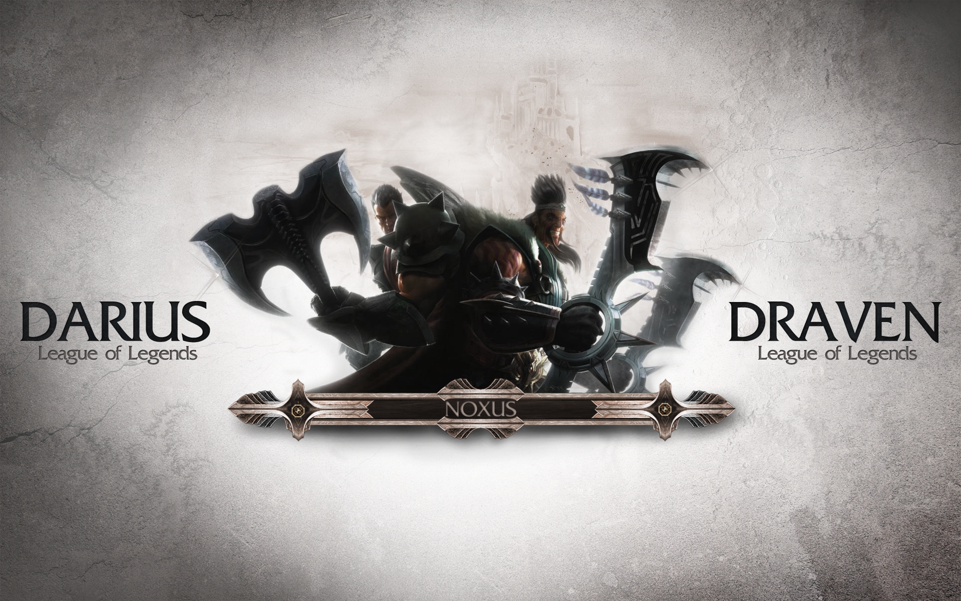 Darius & Draven wallpaper
