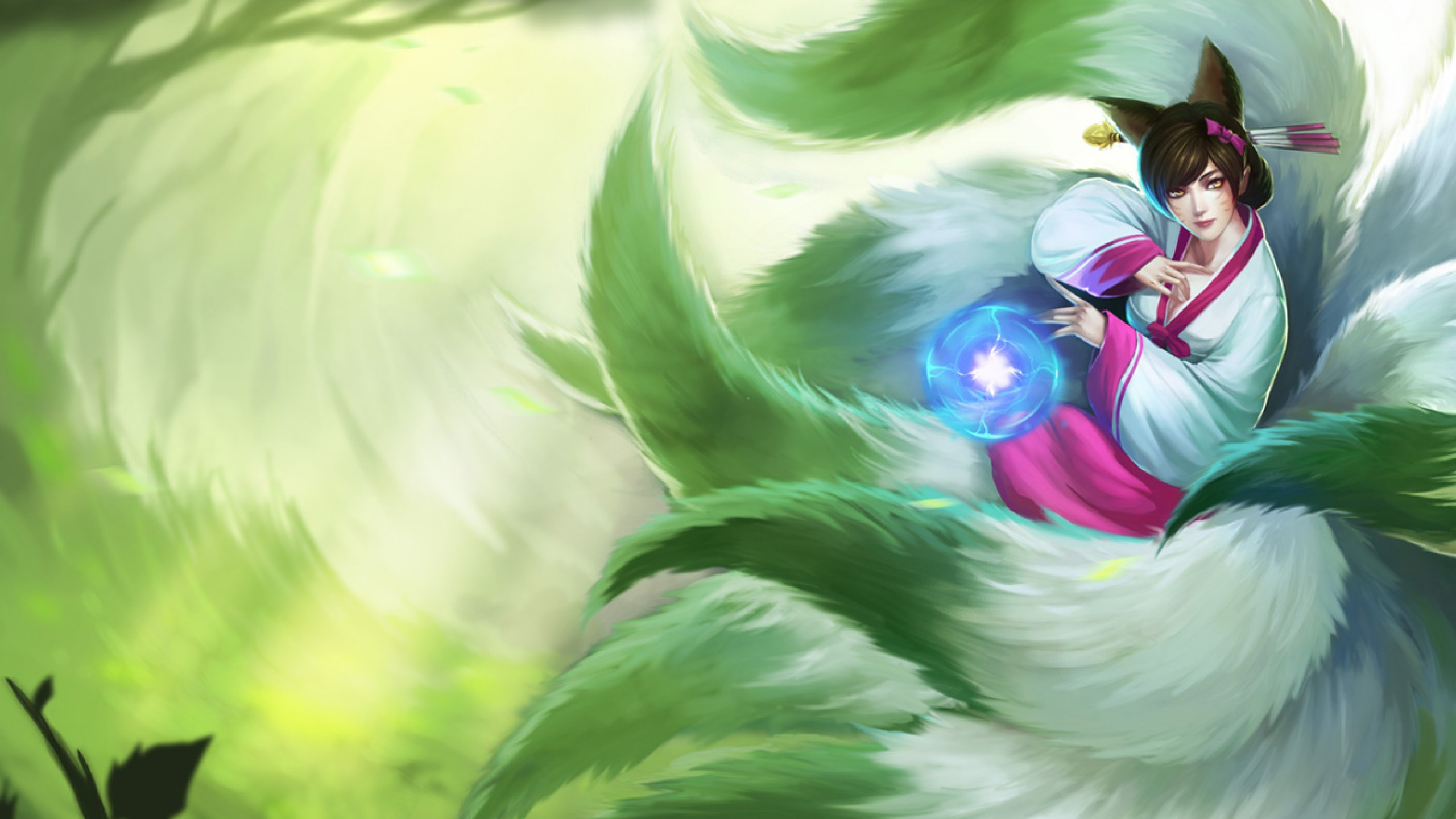 Dynasty Ahri Chinese Skin wallpaper