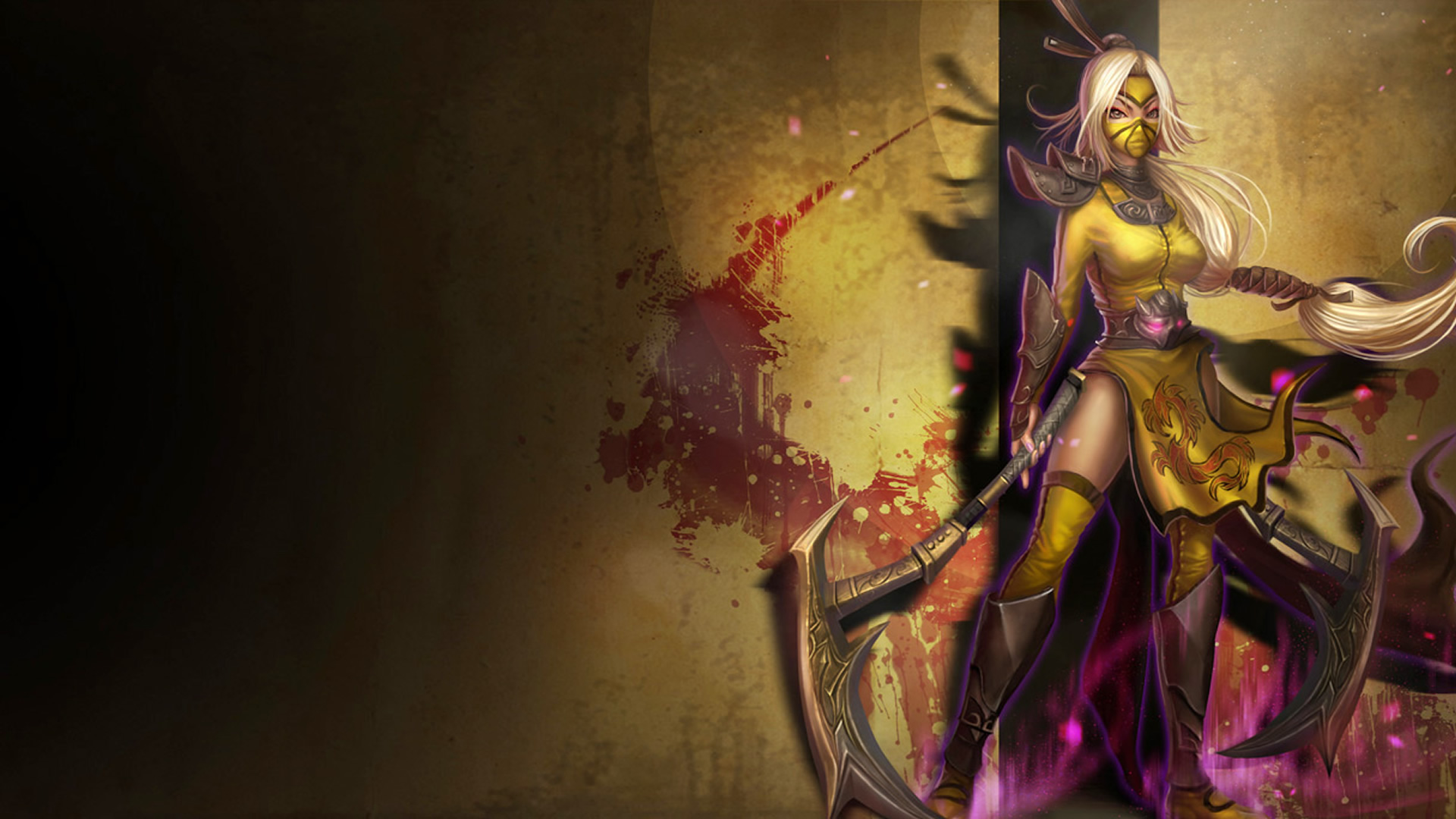 Stinger Akali Chinese Skin wallpaper