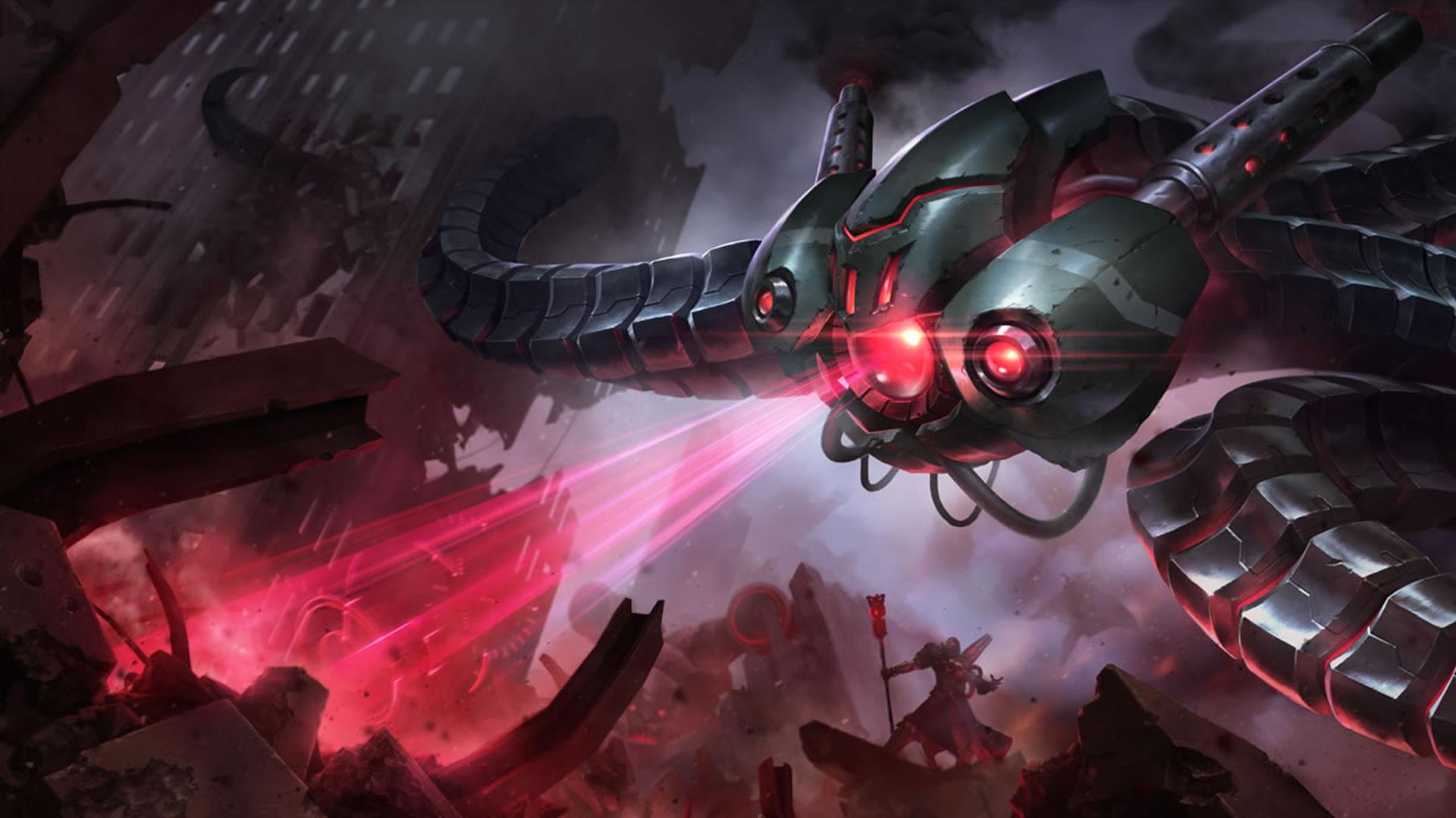Battlecast Vel'Koz wallpaper