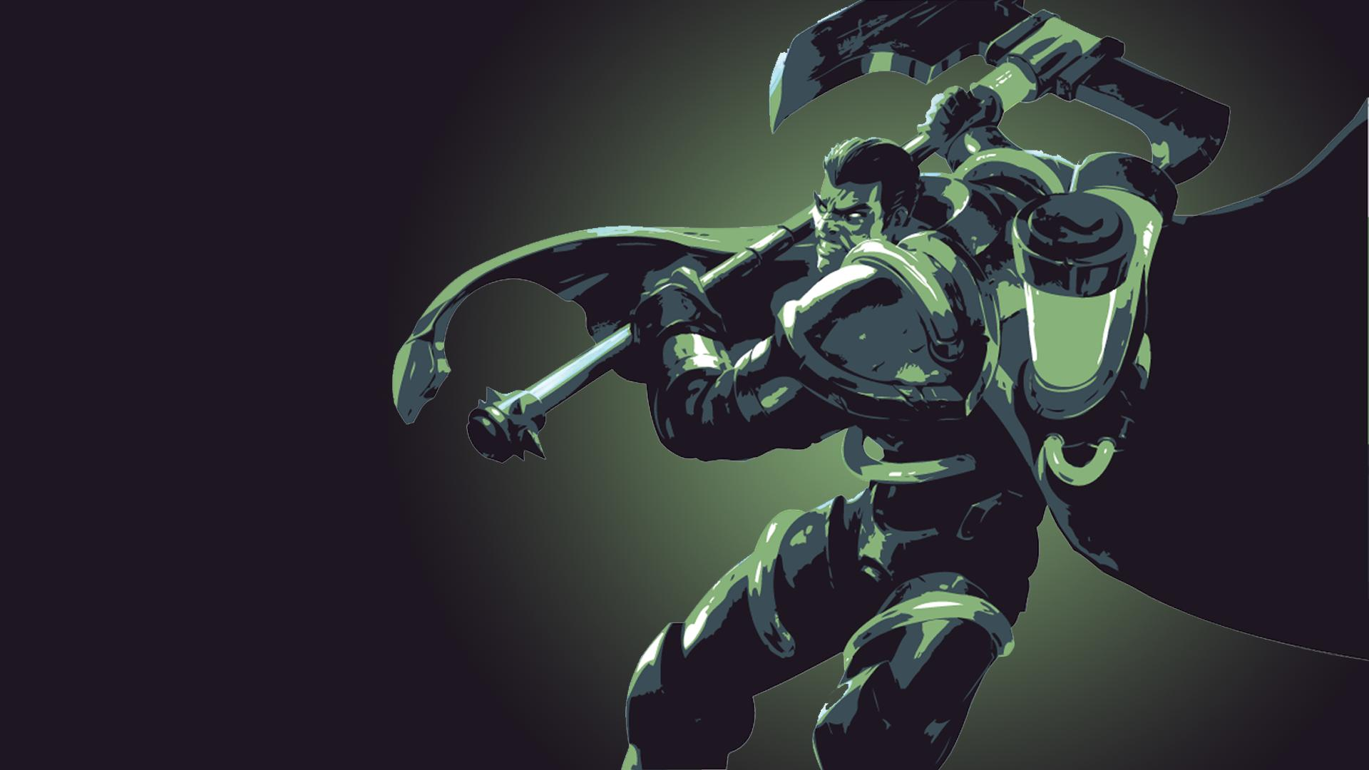 Bioforge Darius Minimalistic wallpaper
