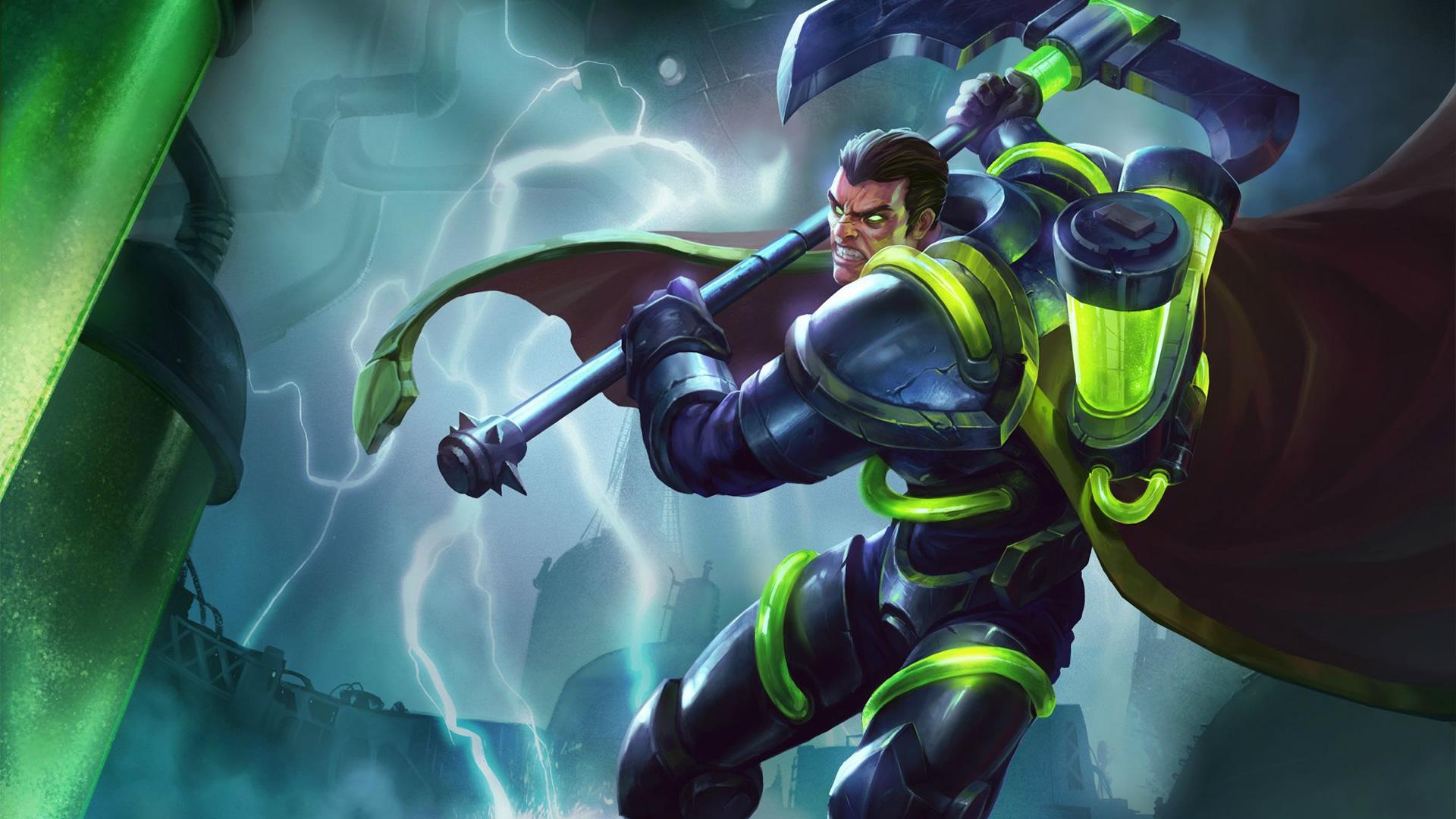 Bioforge Darius wallpaper