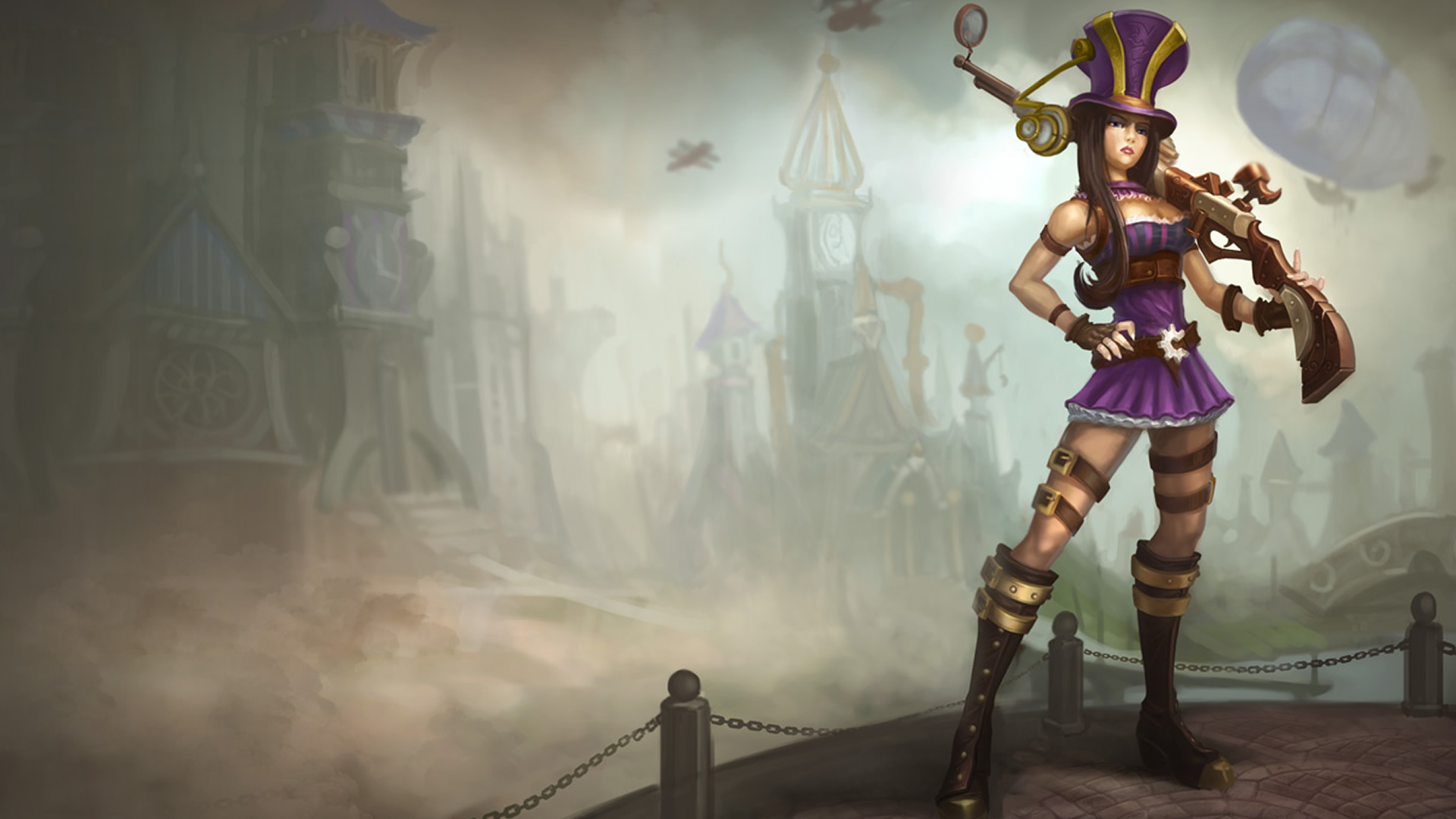 Caitlyn Old Classic Skin wallpaper