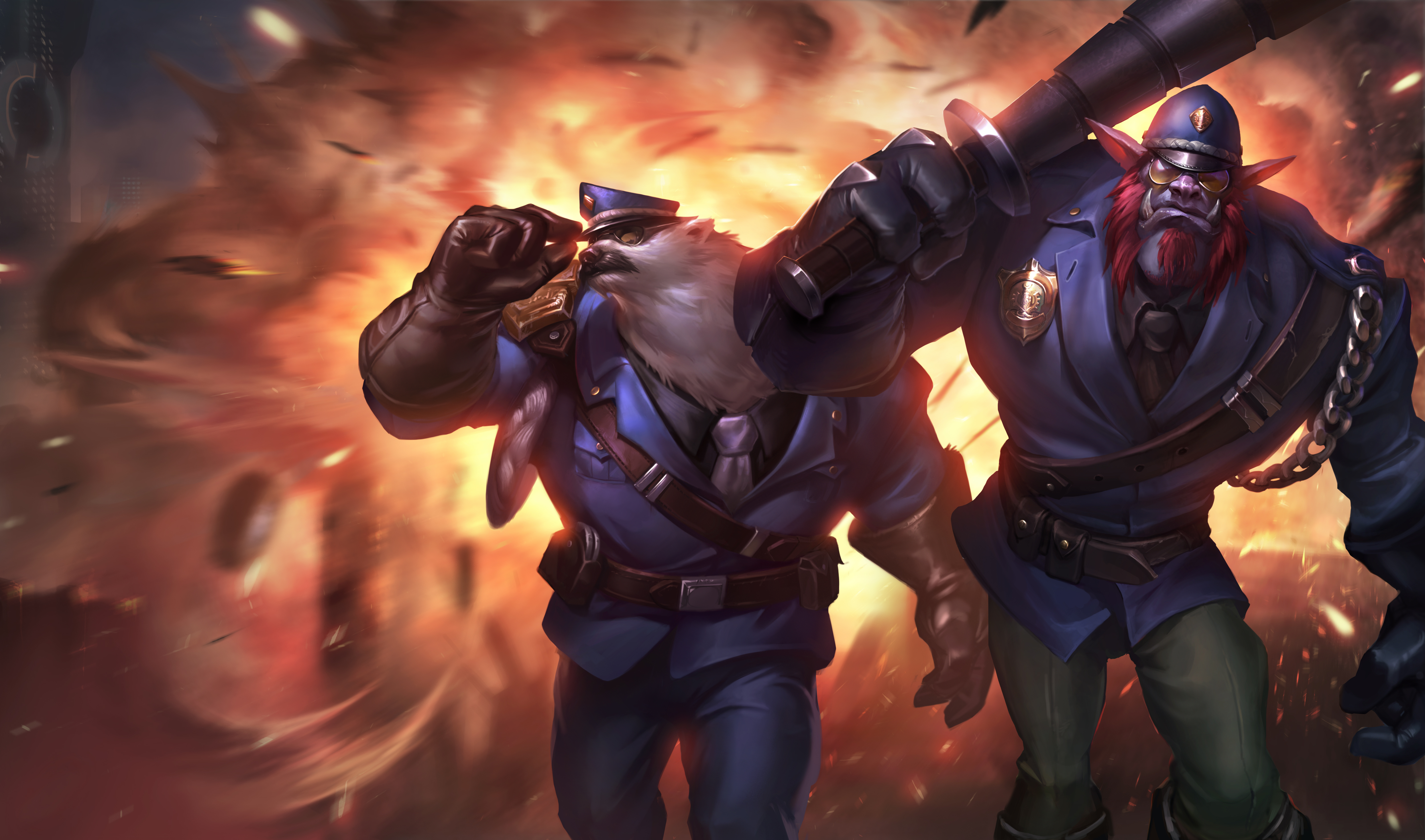 Captain Volibear & Constable Trundle wallpaper