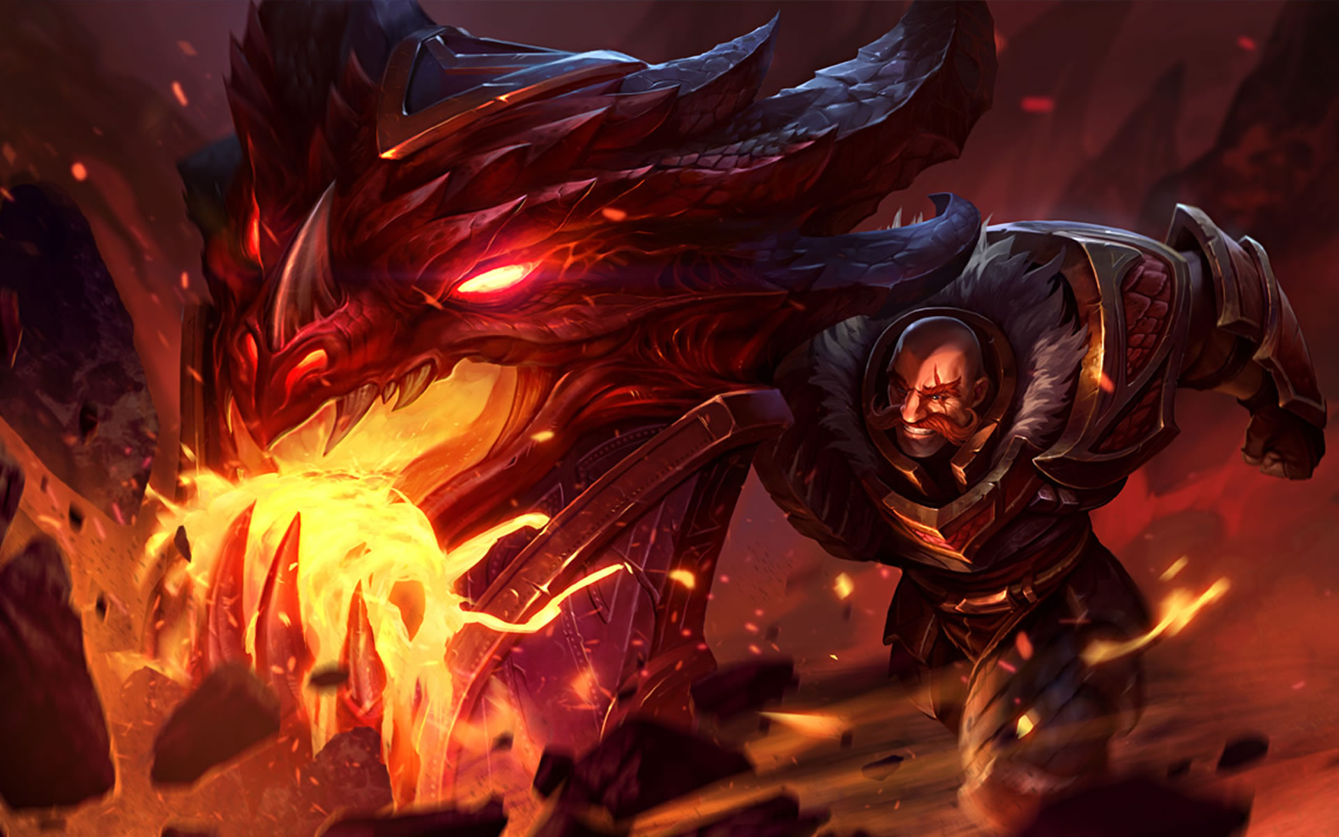 Dragonslayer Braum wallpaper