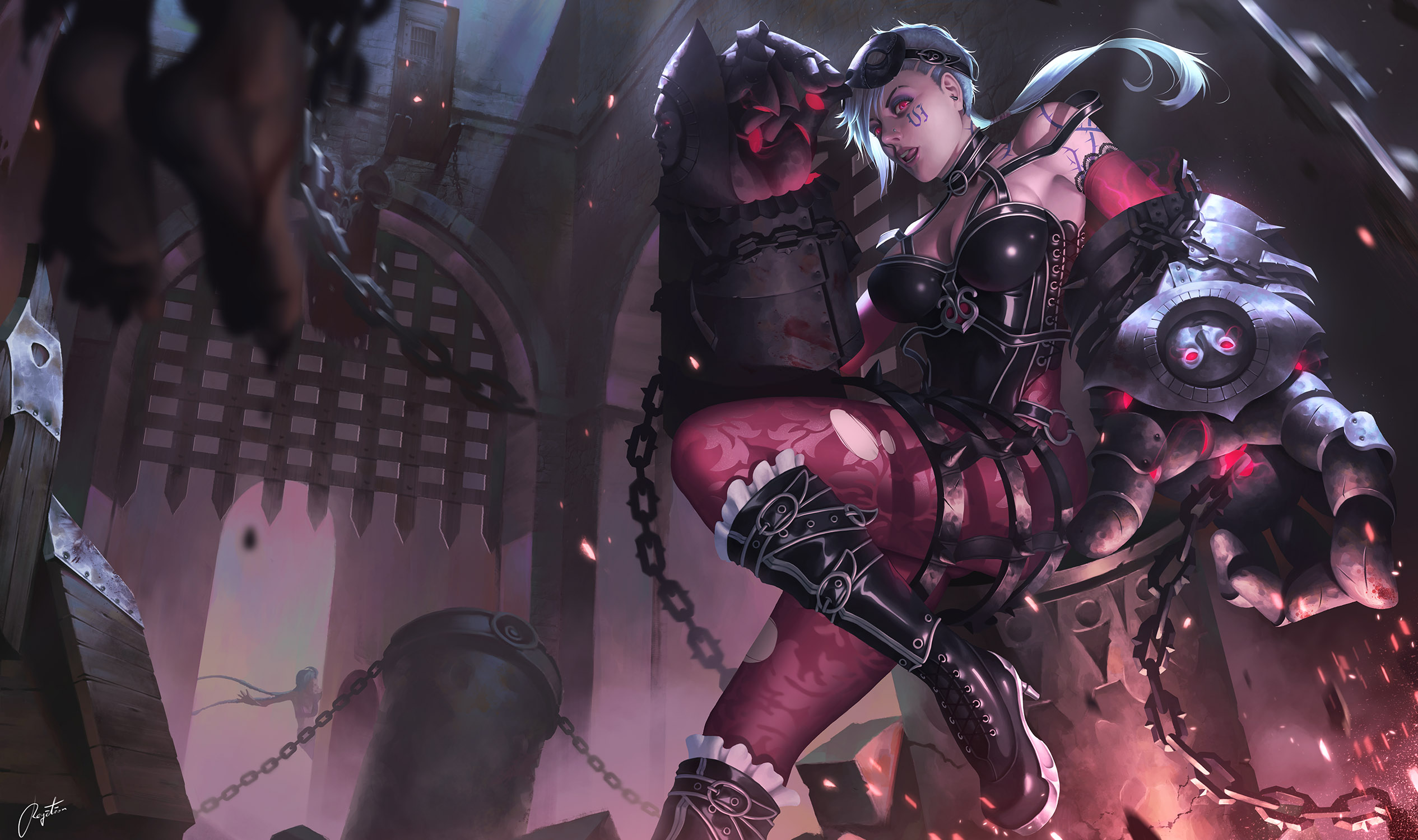 Executioner Vi wallpaper