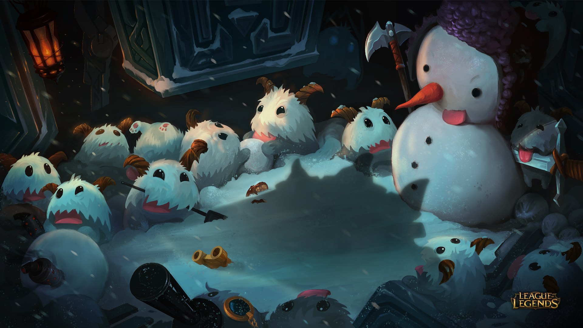 League of Legends Poros wallpaper