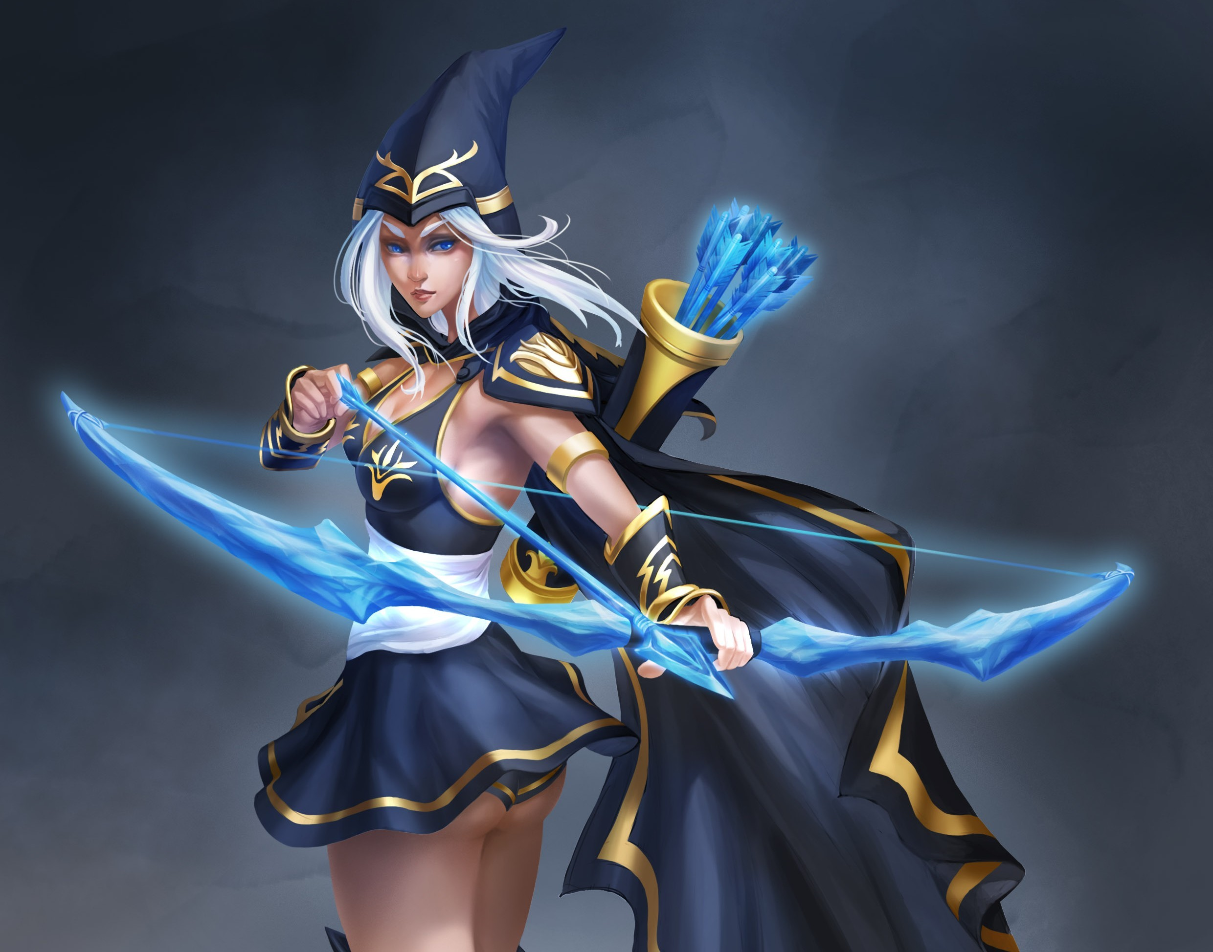 Sexy Ashe - LoLWallpapers
