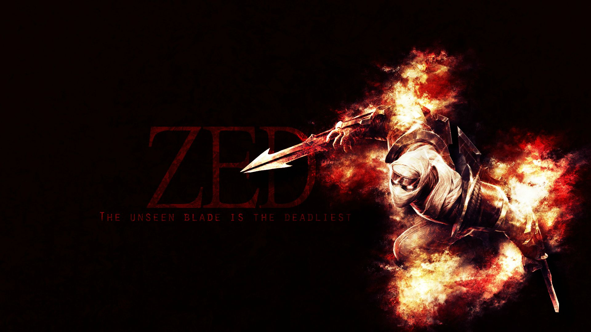Shockblade Zed wallpaper