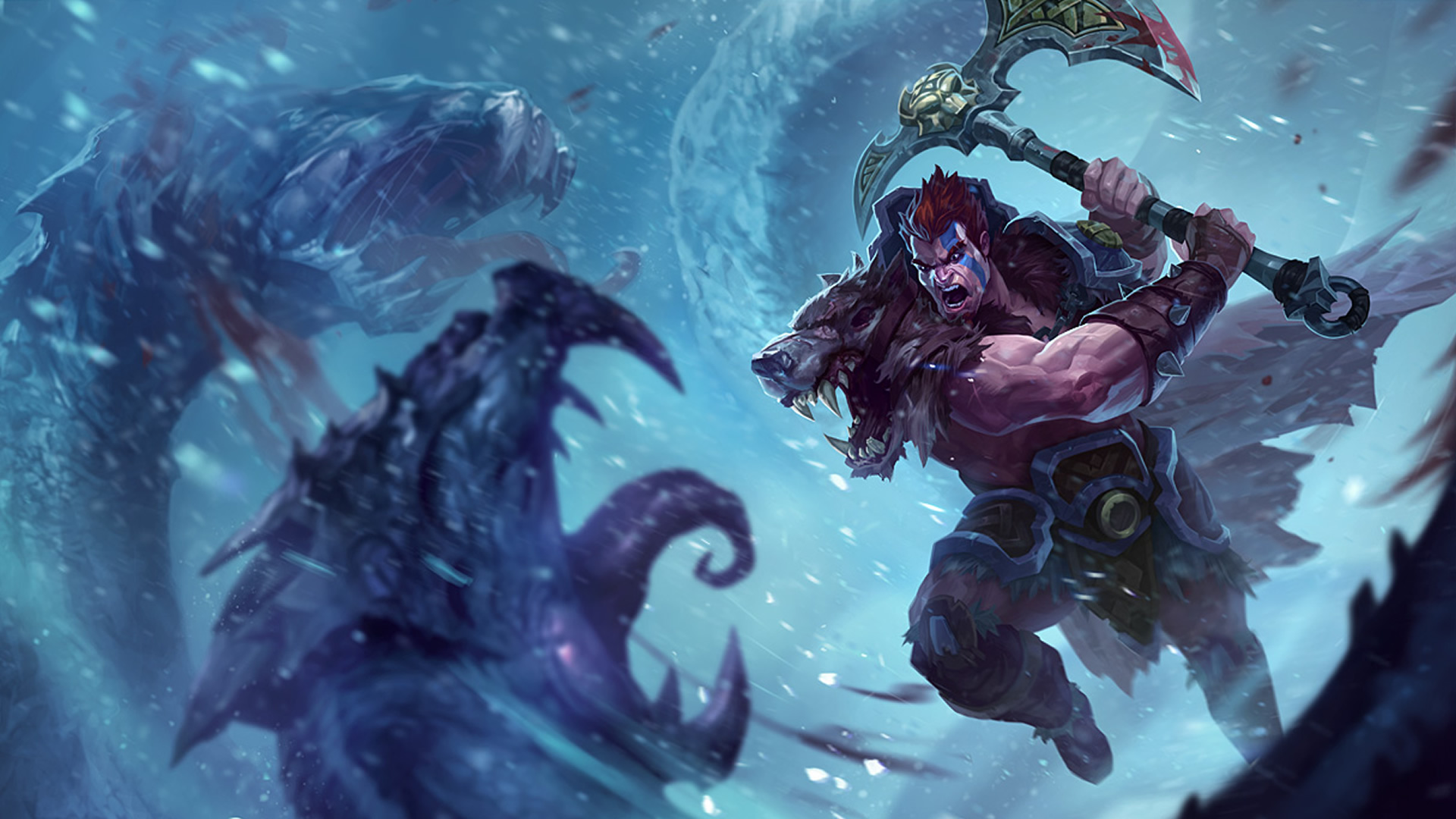 Woad King Darius wallpaper