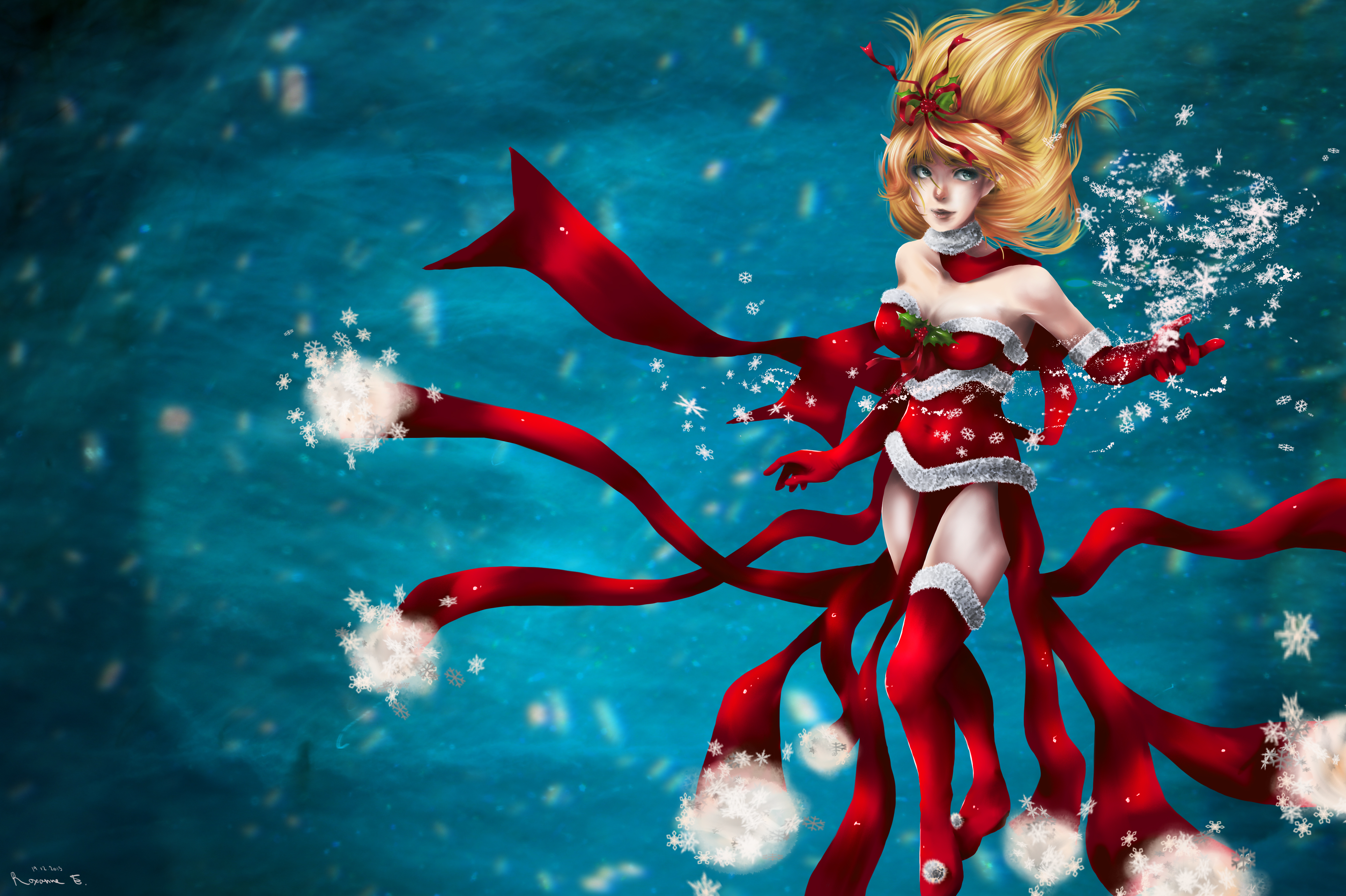 Christmas Janna wallpaper
