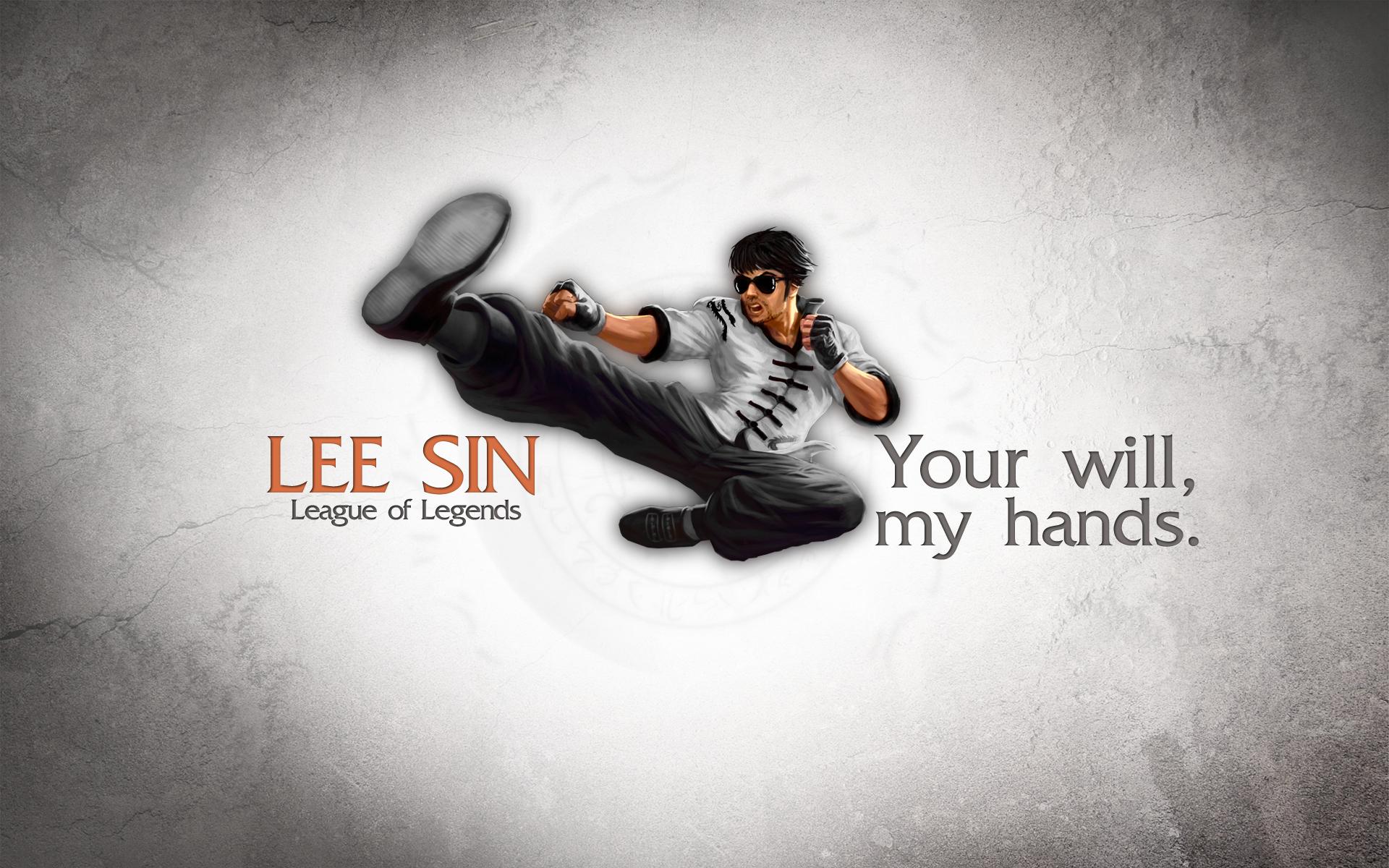 Dragon Fist Lee Sin wallpaper