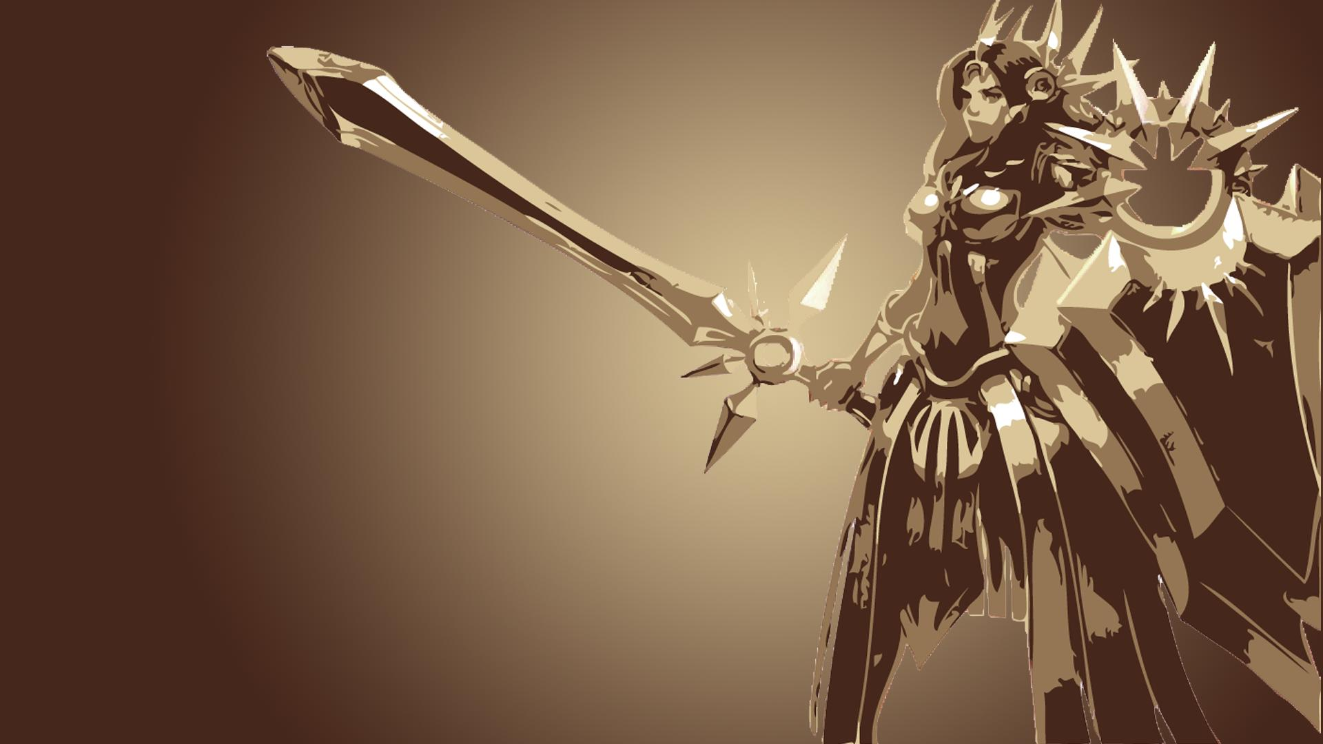 leona wallpaper fan art - photo #5
