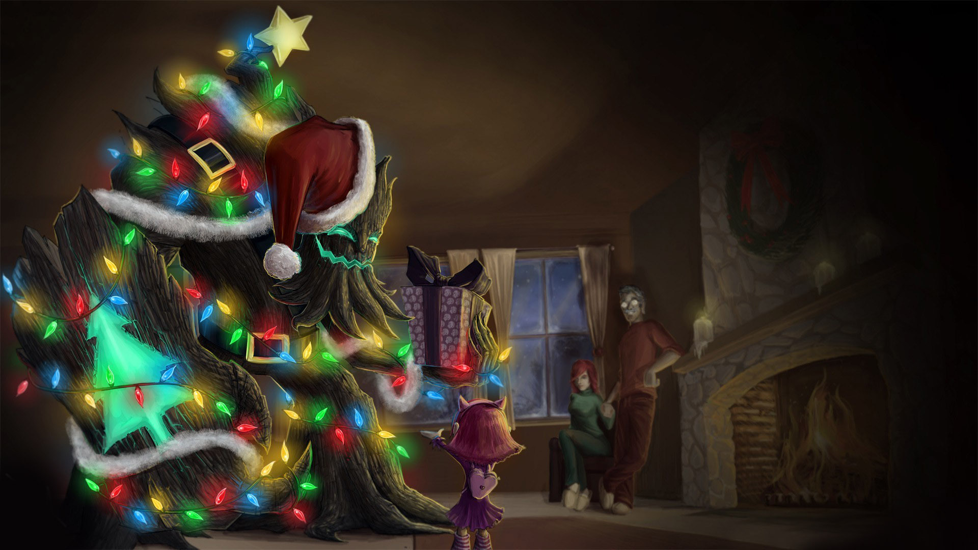 Festive Maokai Old Skin Lolwallpapers