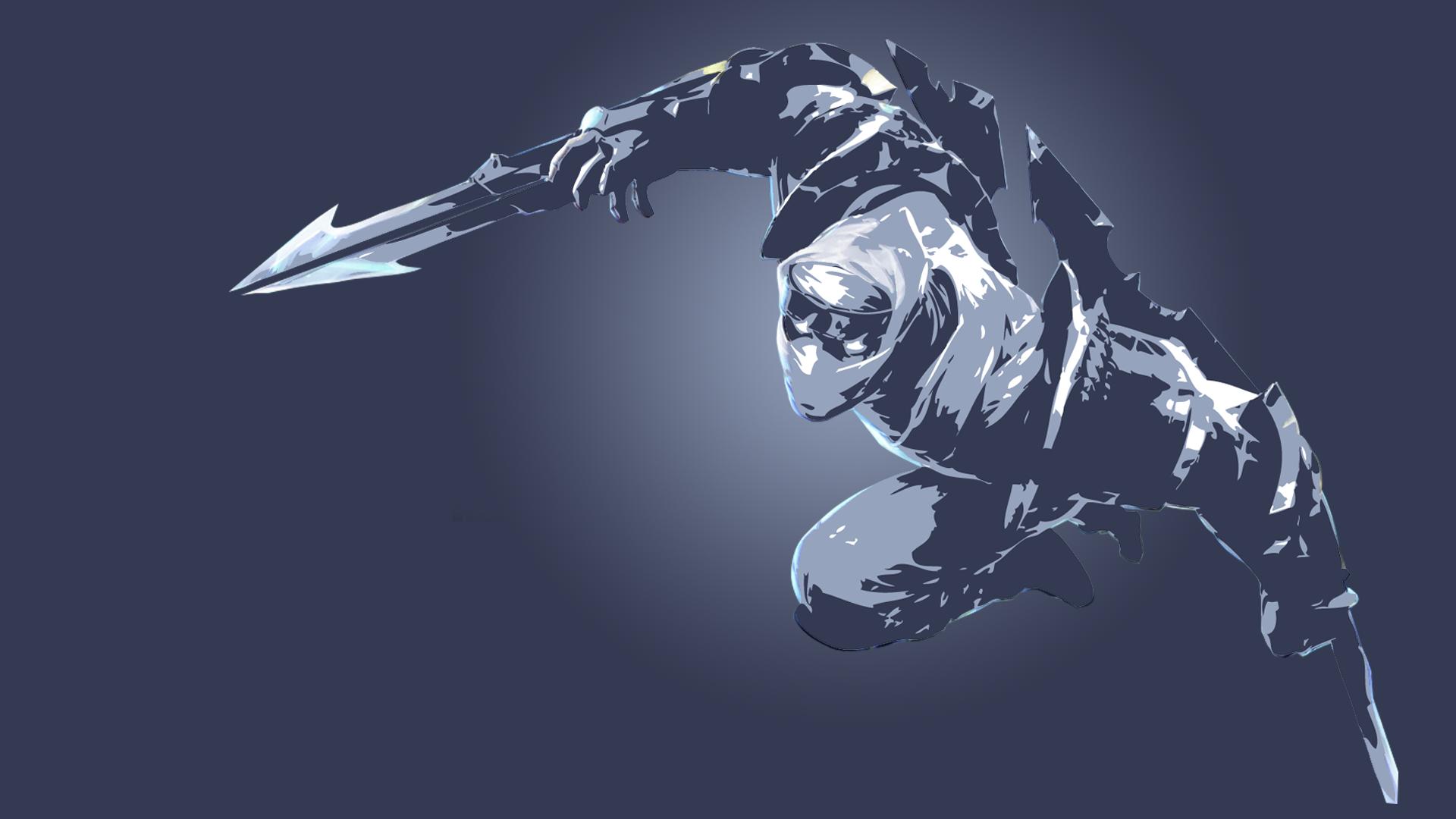 Shockblade Zed Minimalistic wallpaper