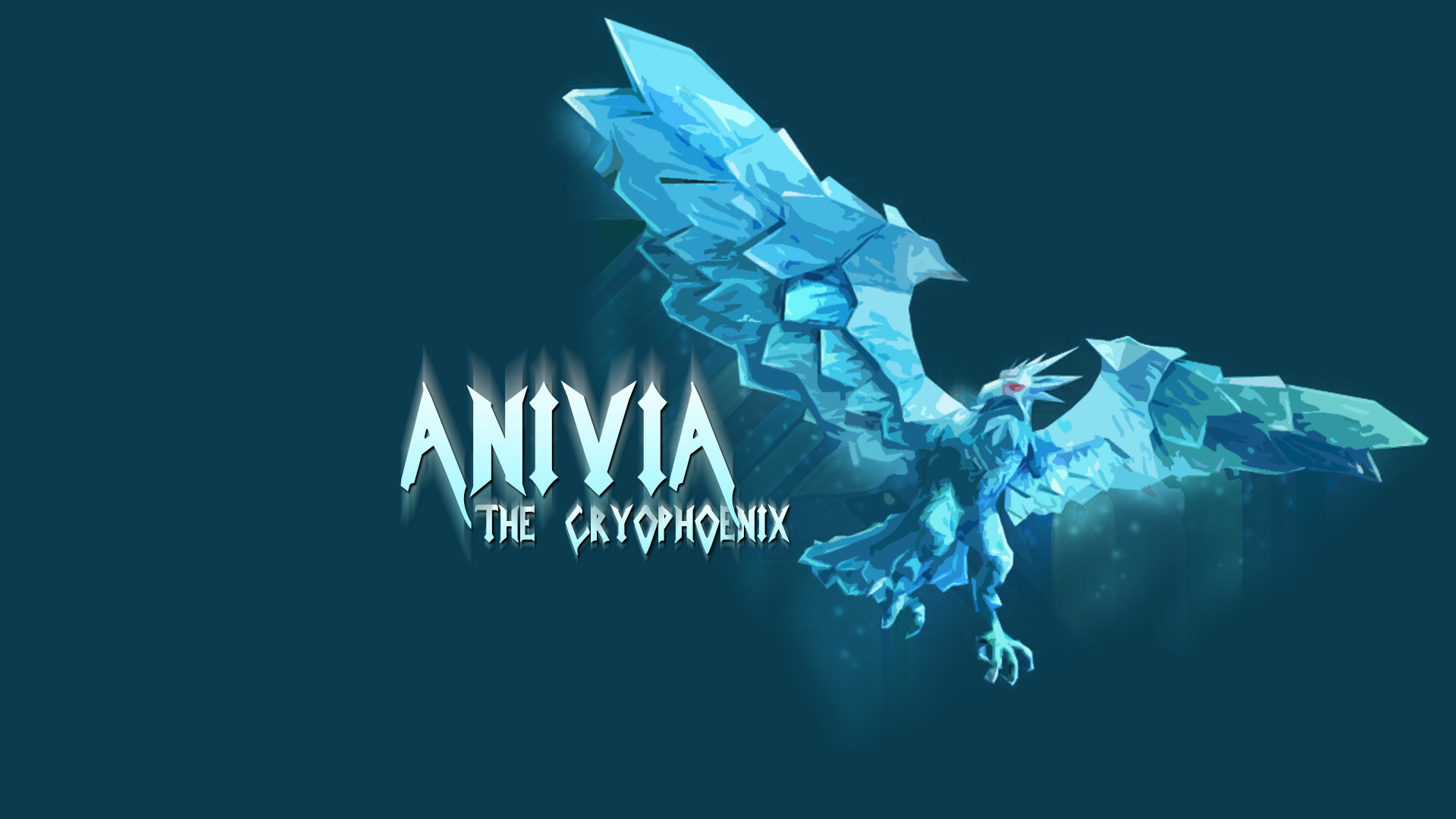 The Cryophoenix Anivia wallpaper