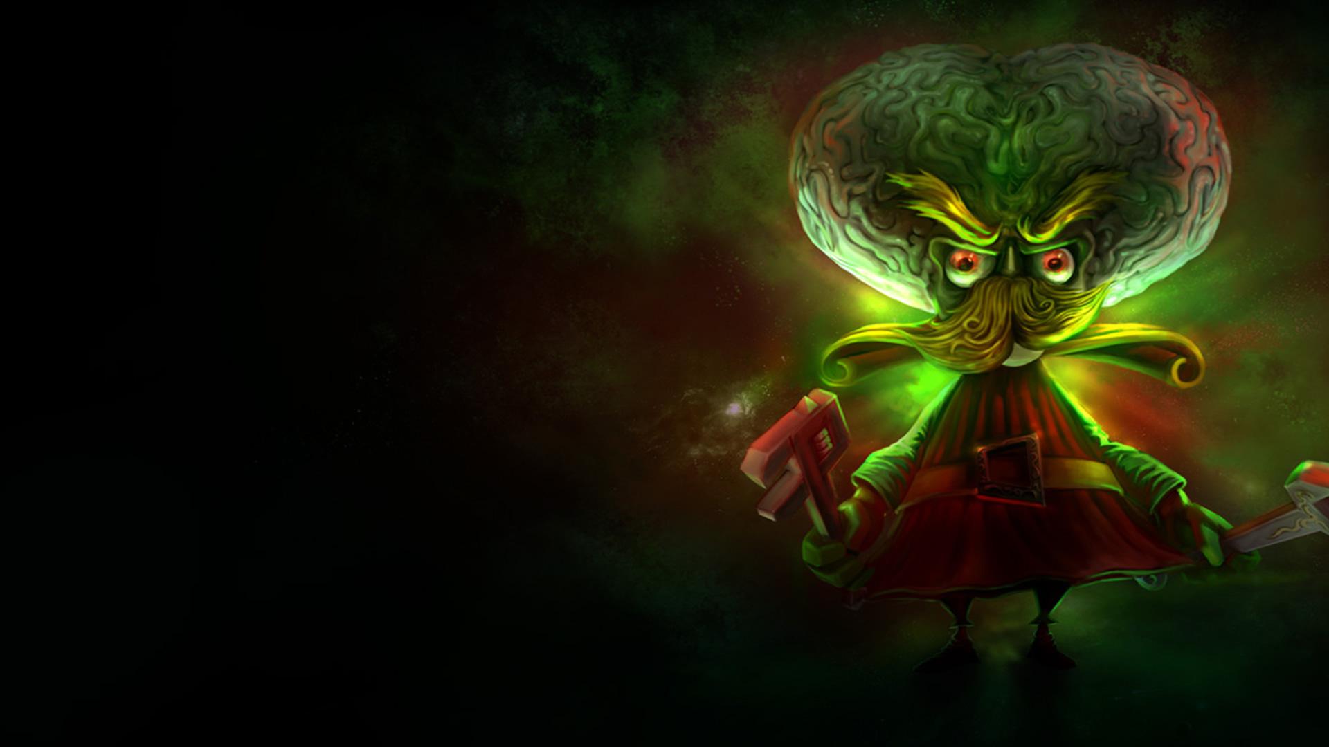 Alien Invader Heimerdinger wallpaper