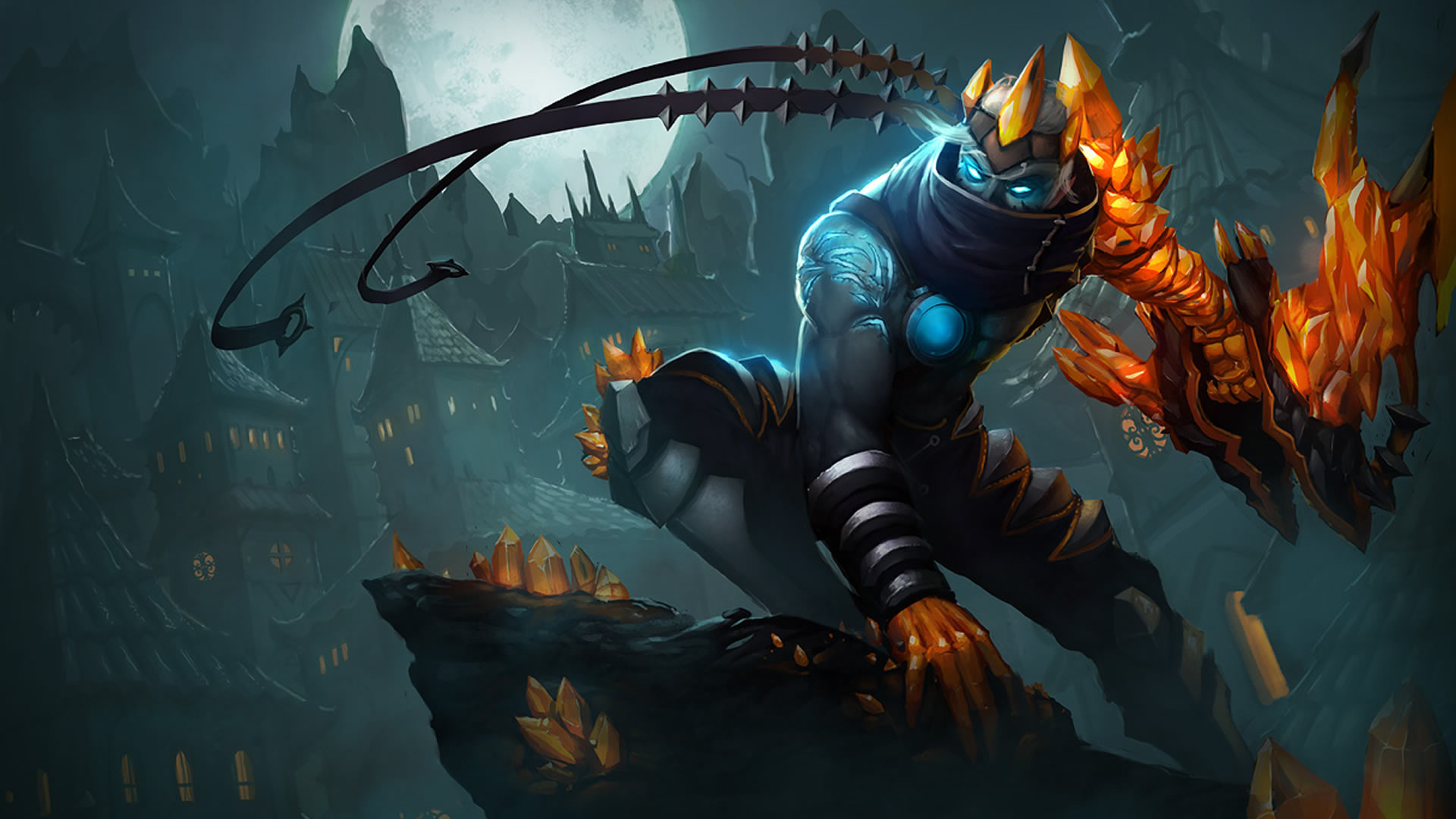 Blight Crystal Varus wallpaper