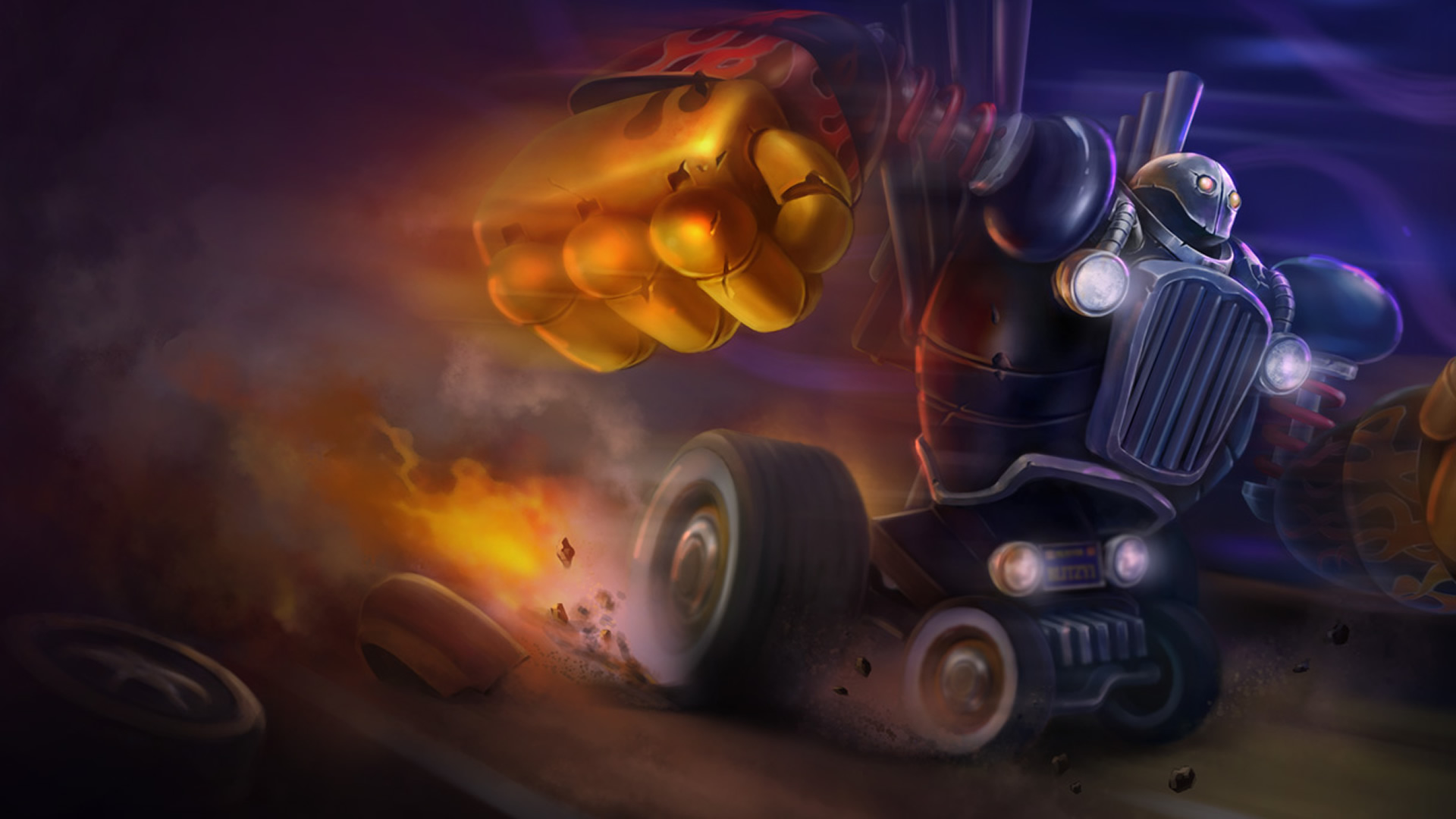 Piltover Customs Blitzcrank wallpaper