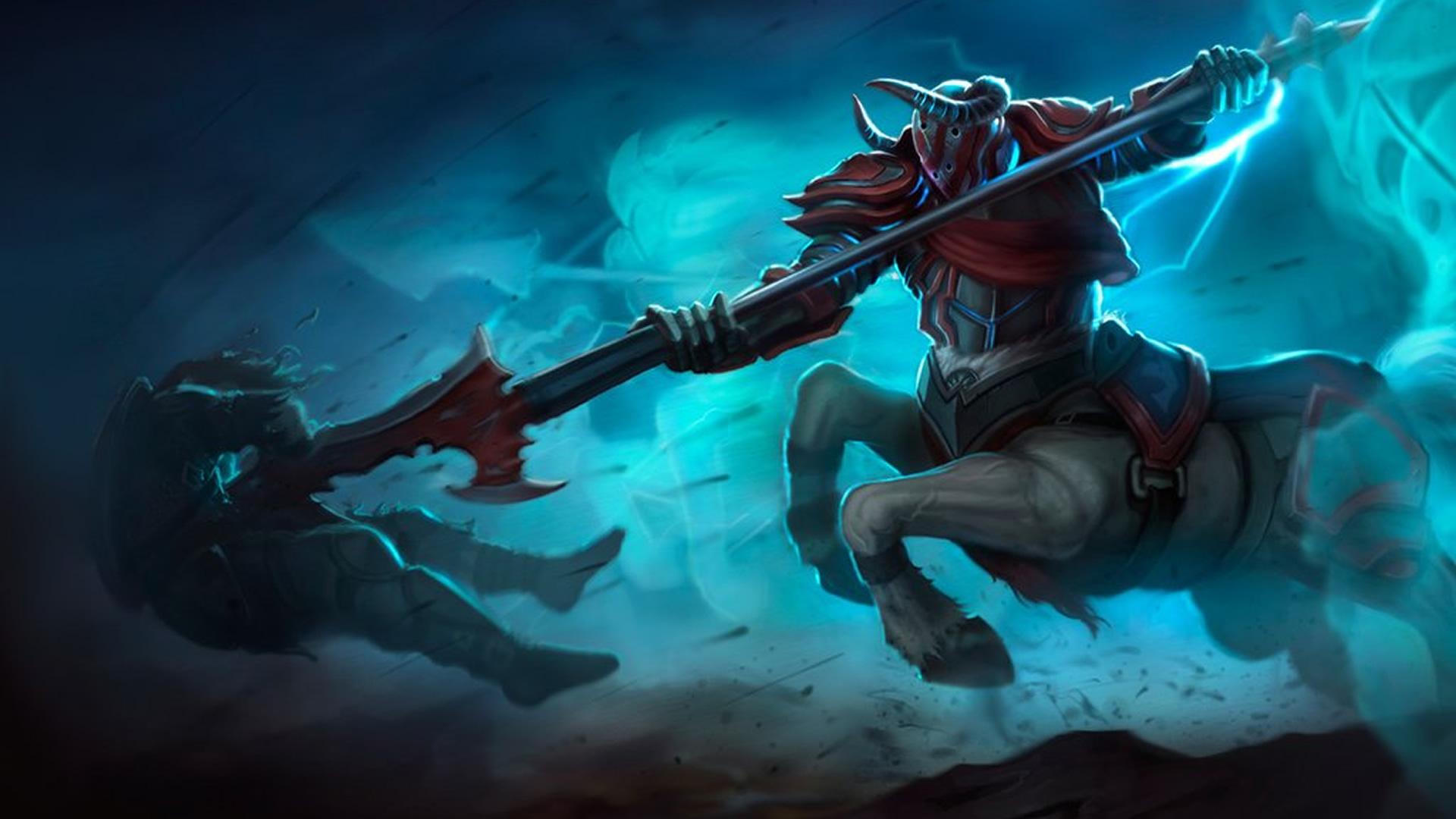 Blood Knight Hecarim wallpaper