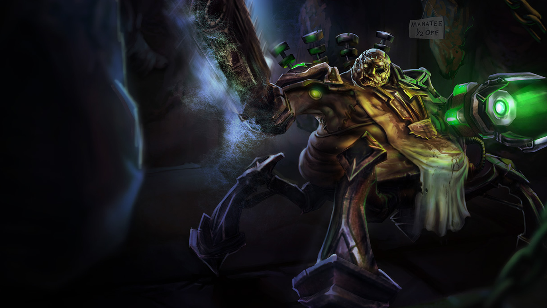 Butcher Urgot wallpaper
