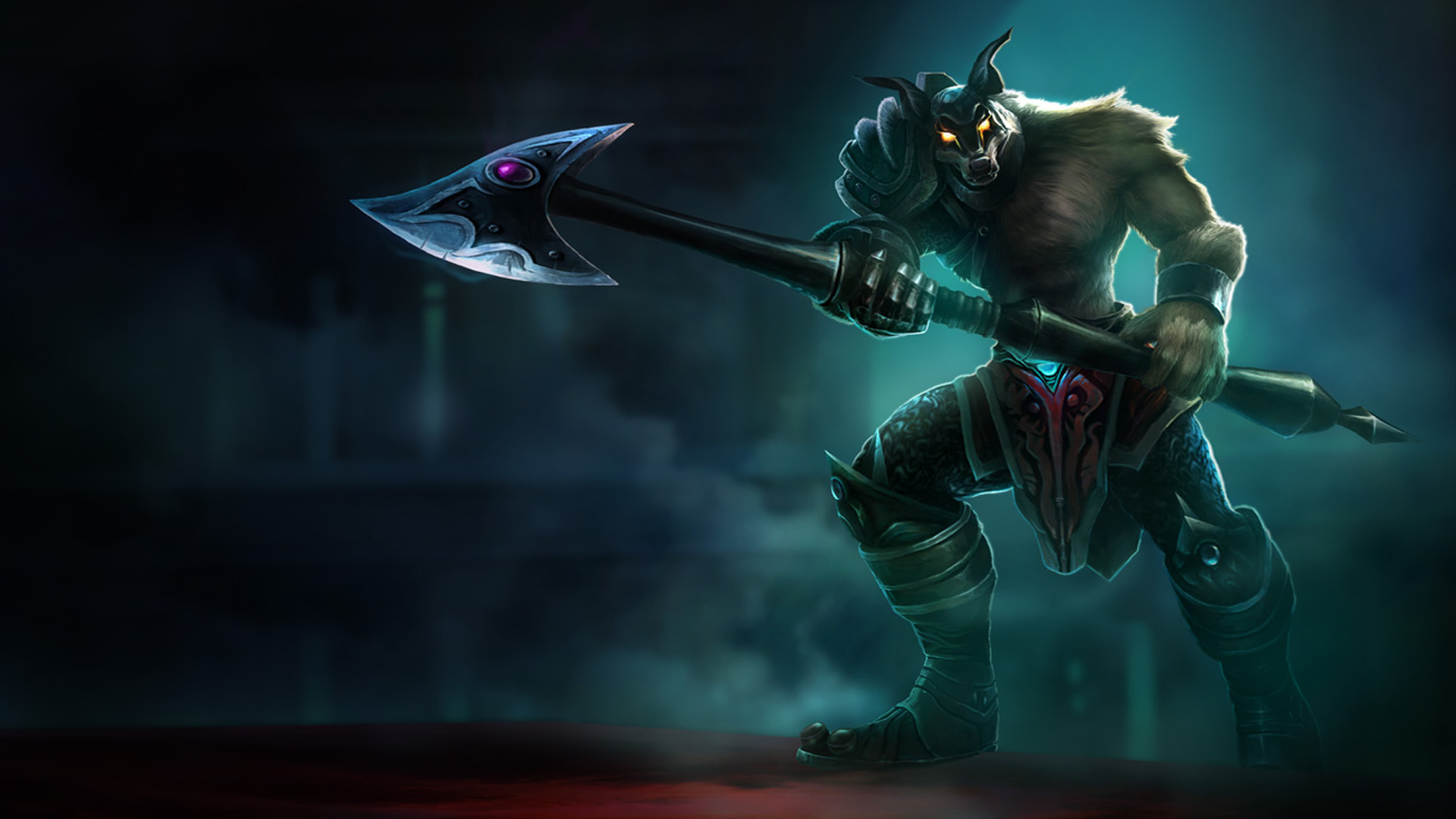 Dreadknight Nasus wallpaper