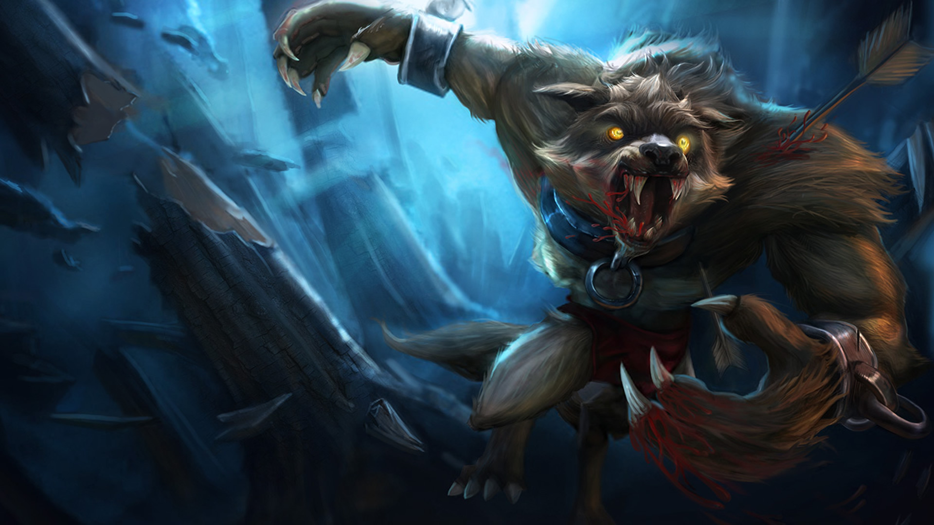 Feral Warwick wallpaper