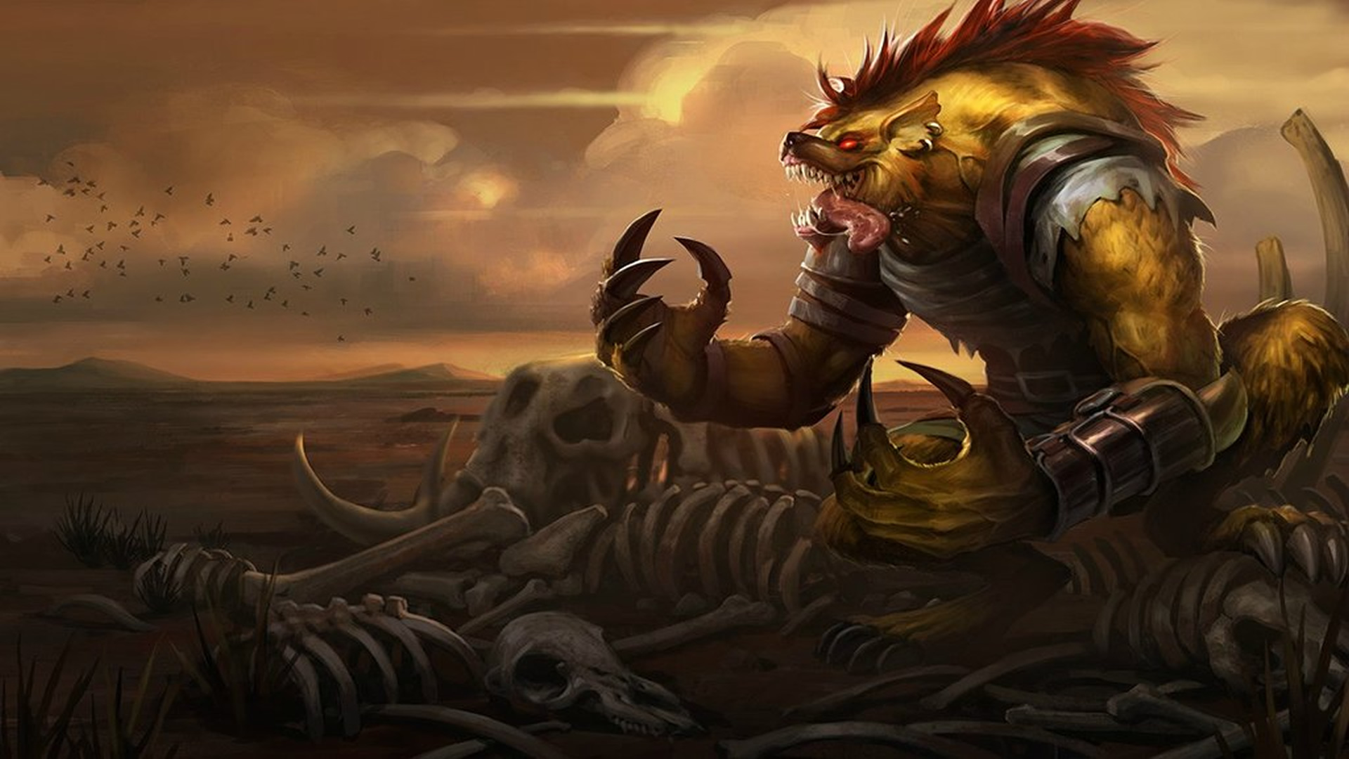 Hyena Warwick wallpaper
