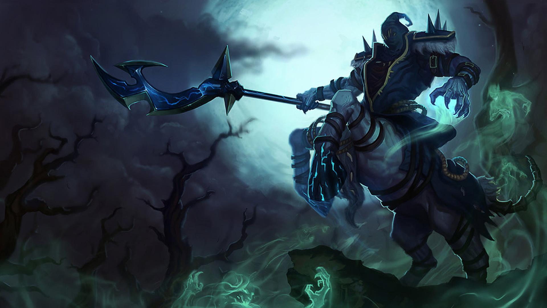 Reaper Hecarim wallpaper