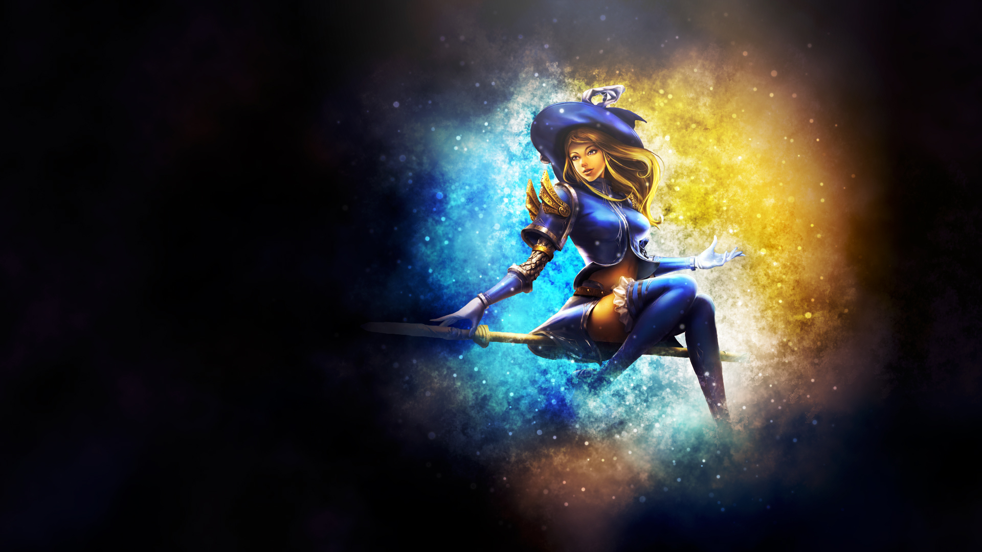 Sorceress Lux Chinese wallpaper