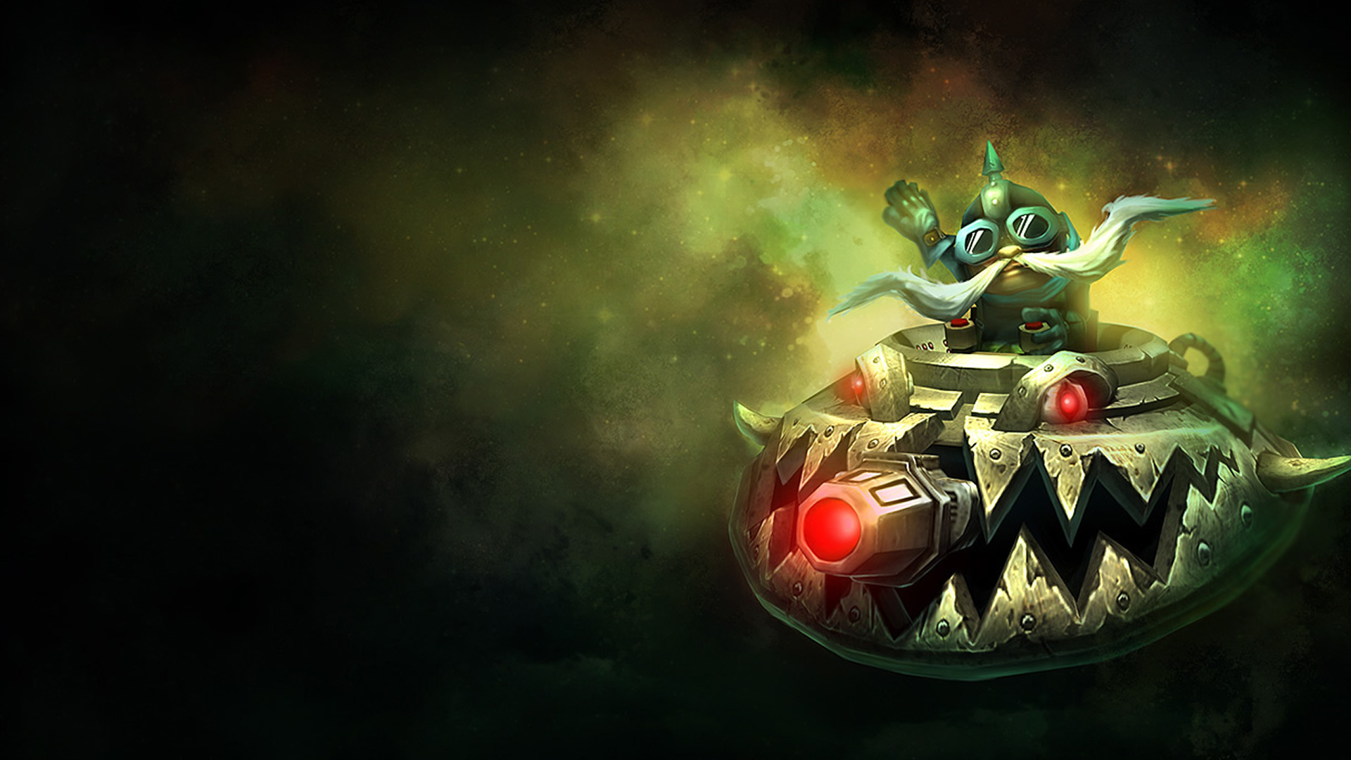 UFO Corki Old Splash Art wallpaper
