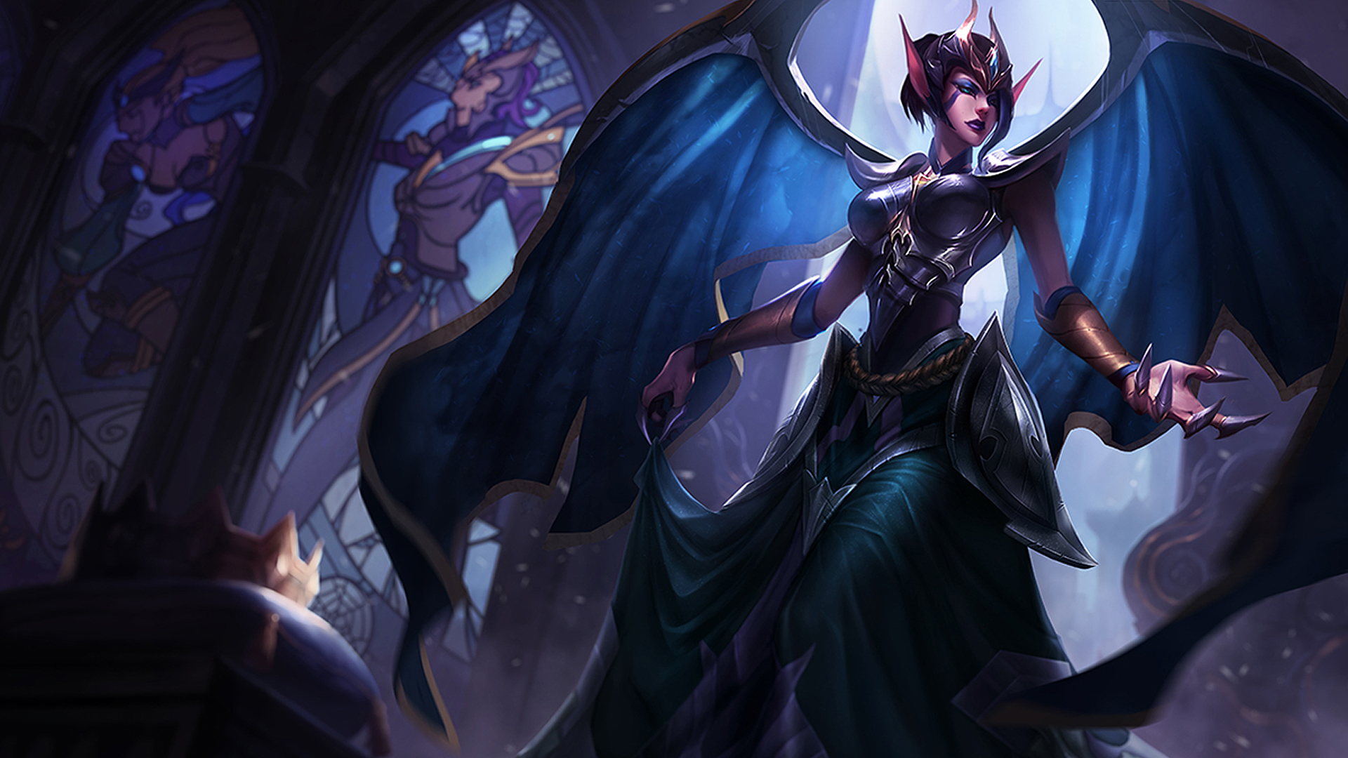 Victorious Morgana wallpaper