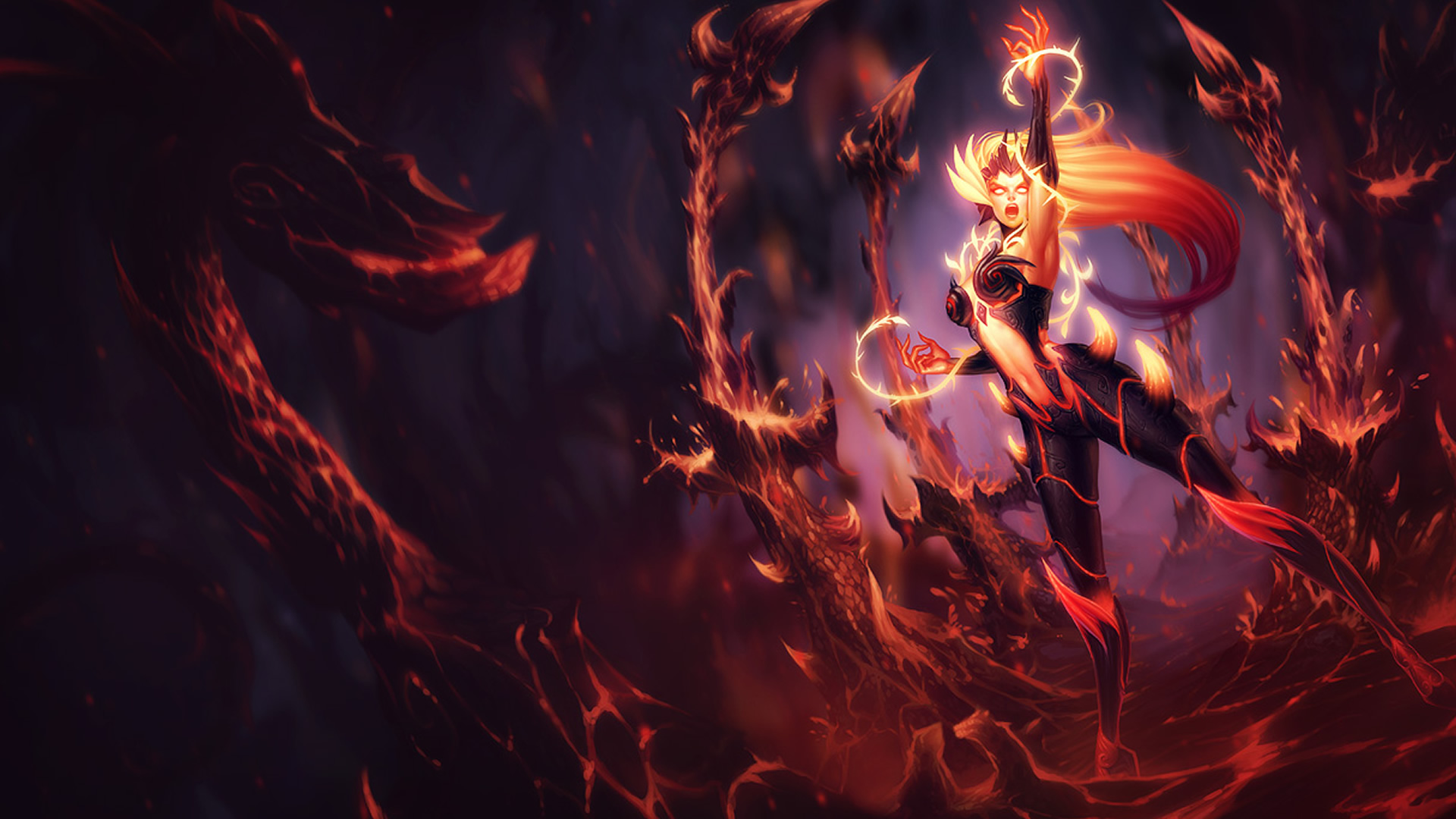 Wildfire Zyra wallpaper