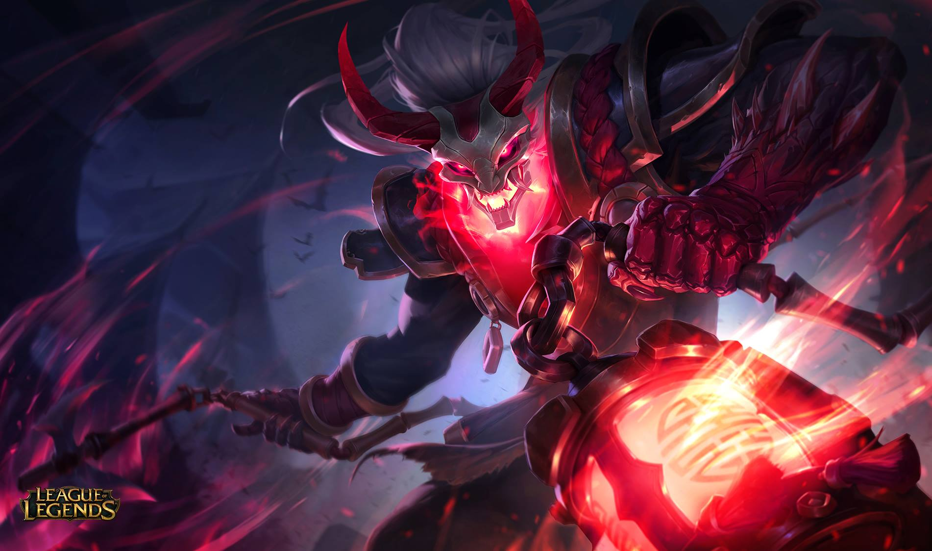 Blood Moon Thresh Lolwallpapers