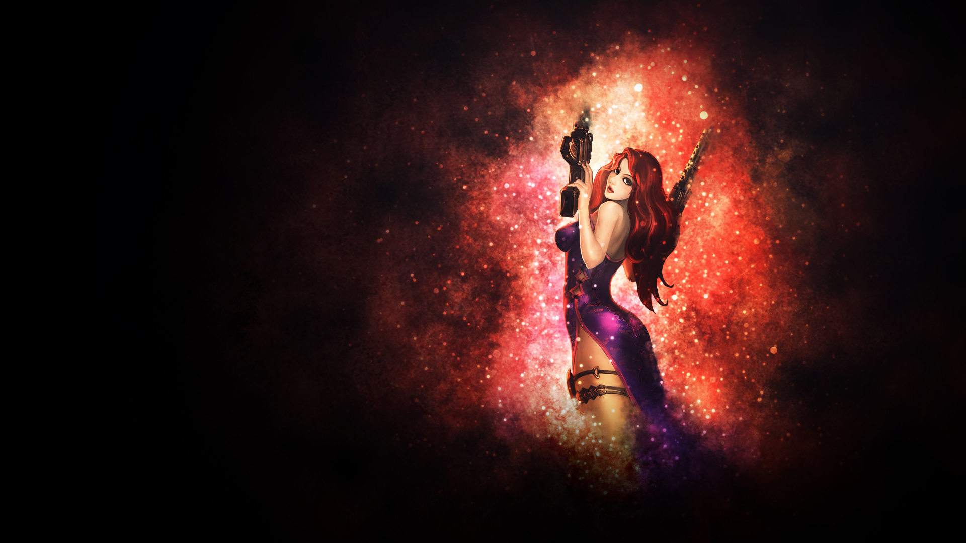 Secret Agent Miss Fortune Chinese wallpaper