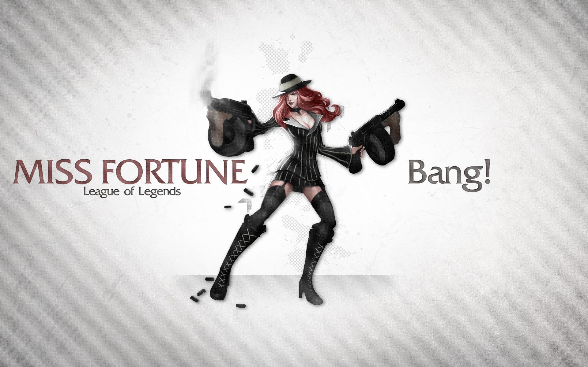 Mafia Miss Fortune wallpaper