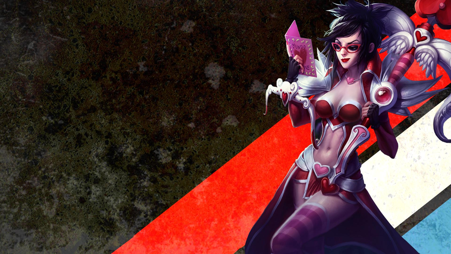 MLG Stripe Vayne wallpaper