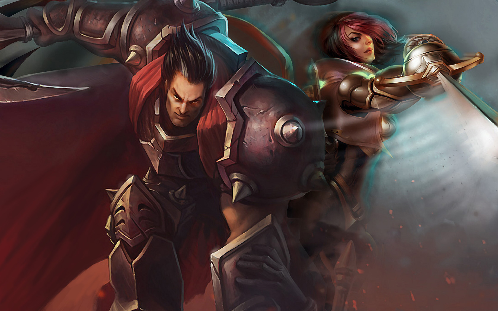Darius & Fiora wallpaper