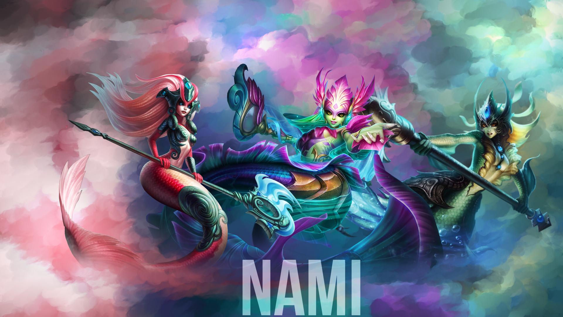 Nami Skins wallpaper