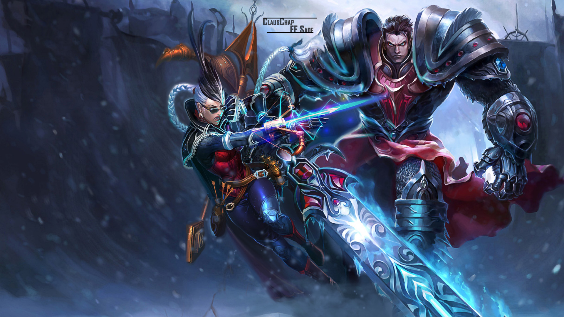 Vayne & Garen wallpaper