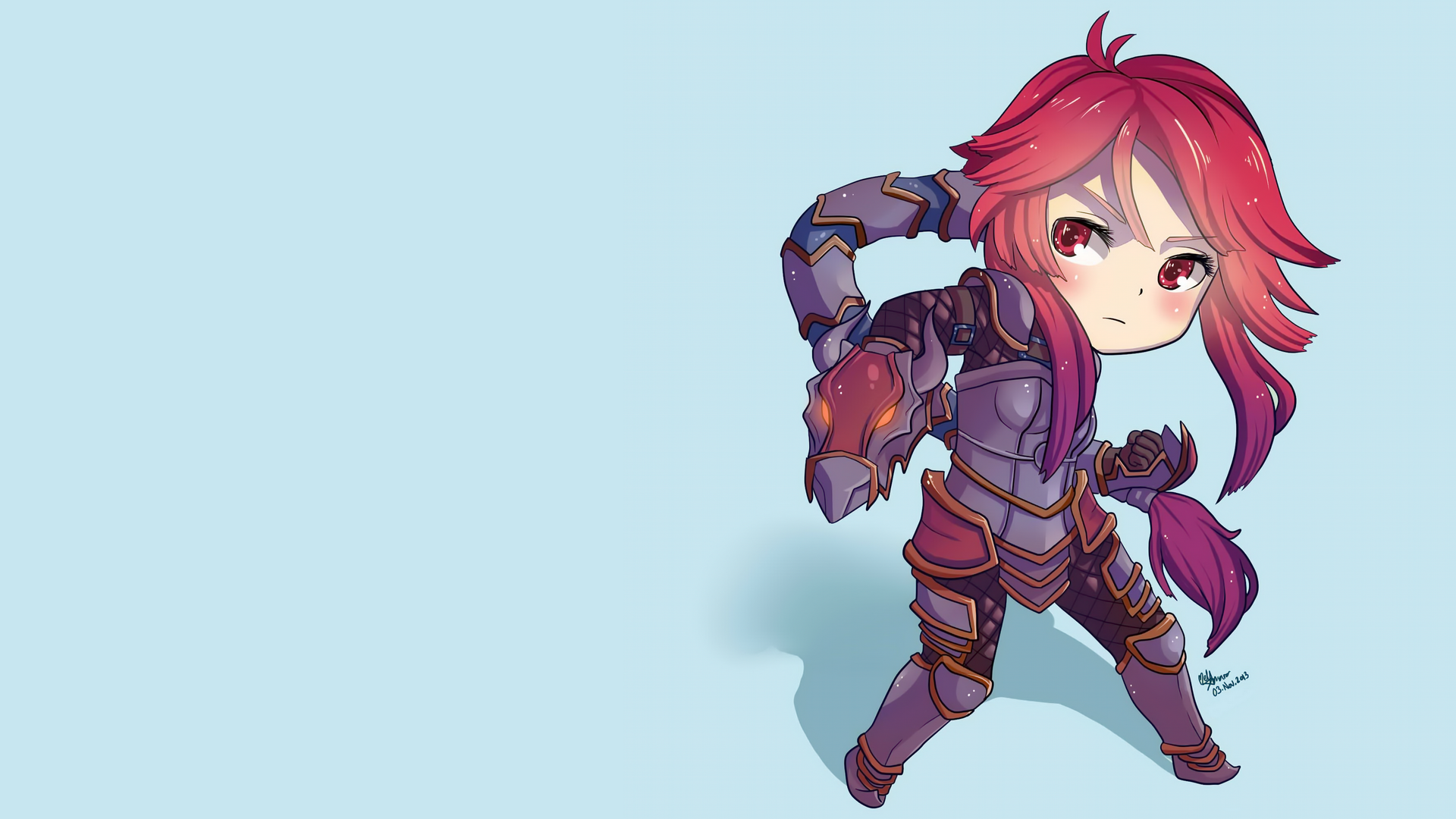 Chibi Shyvana wallpaper